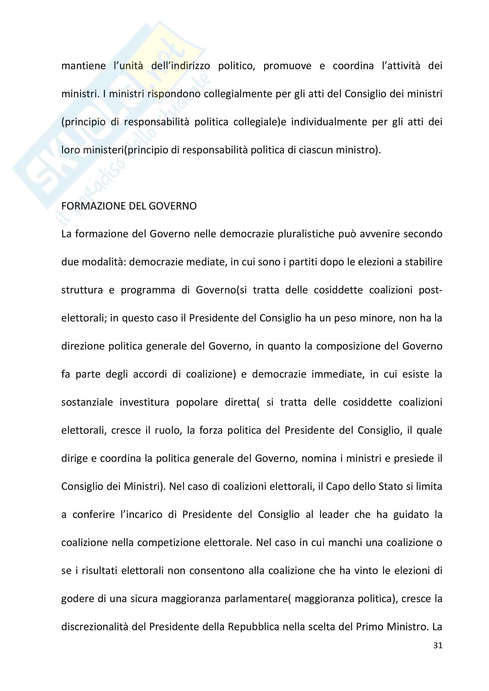 Diritto pubblico + domande Pag. 31