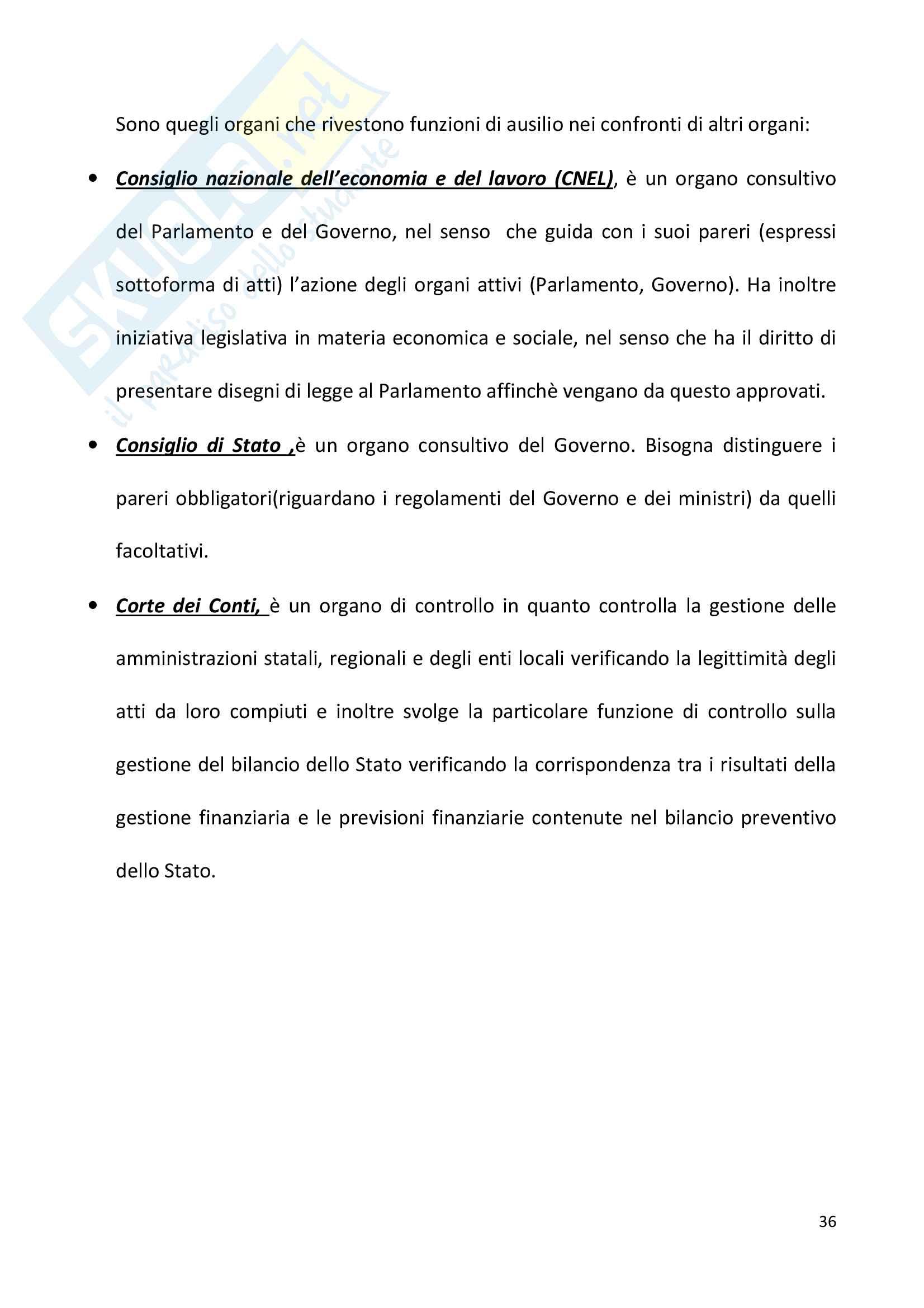 Diritto pubblico + domande Pag. 36