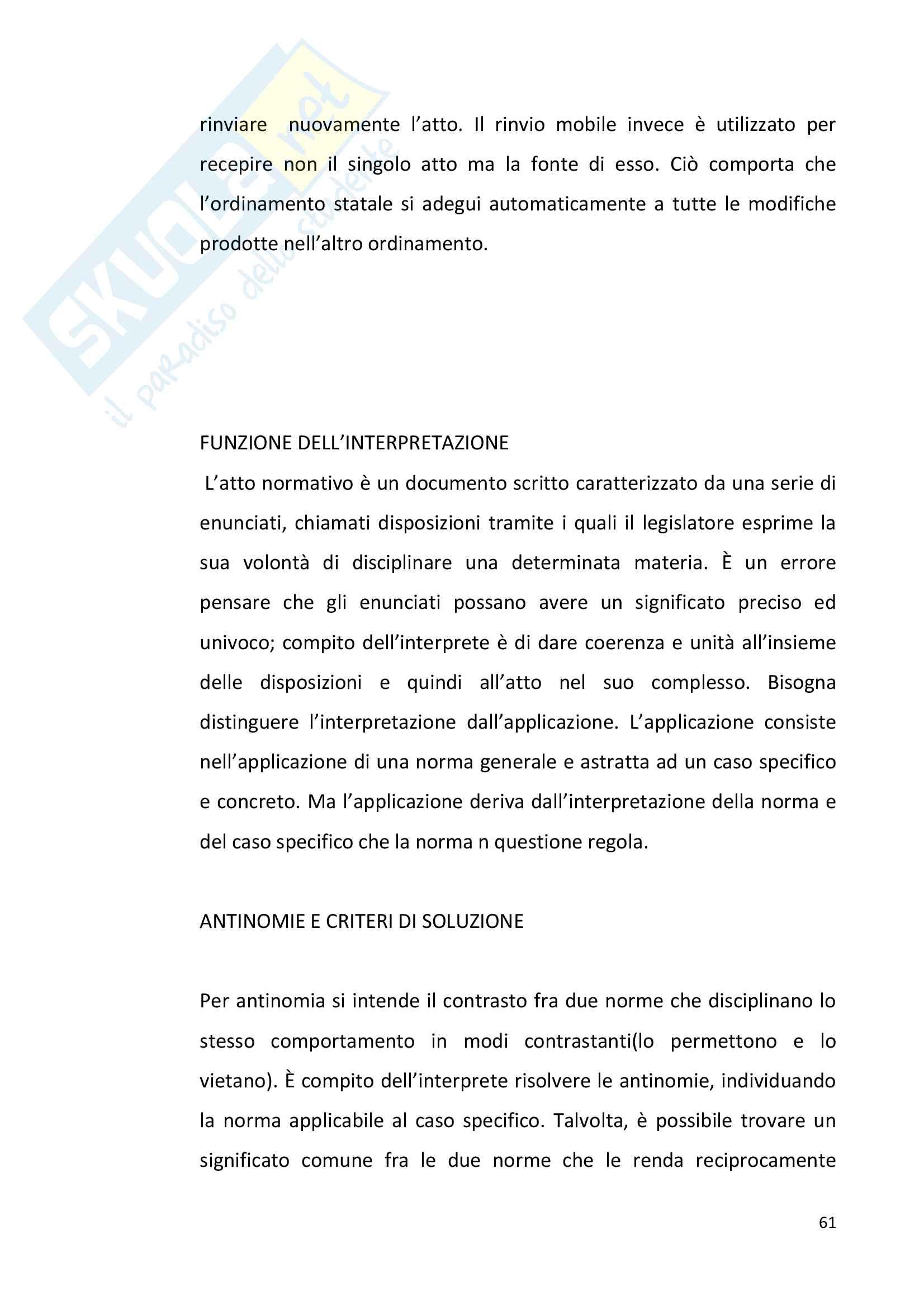 Diritto pubblico + domande Pag. 61