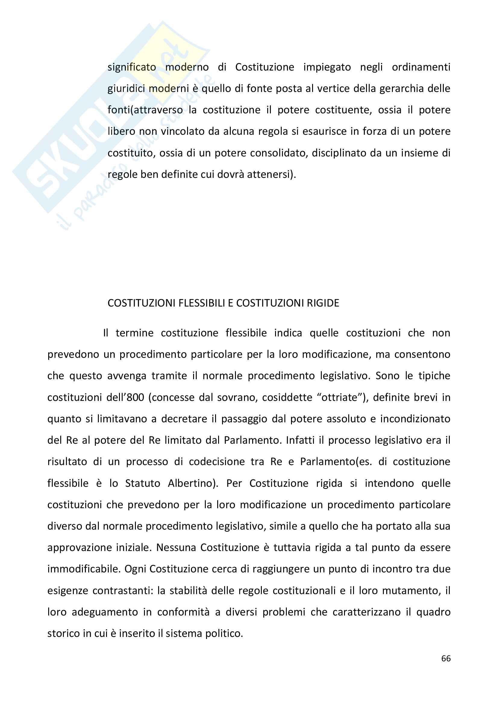 Diritto pubblico + domande Pag. 66