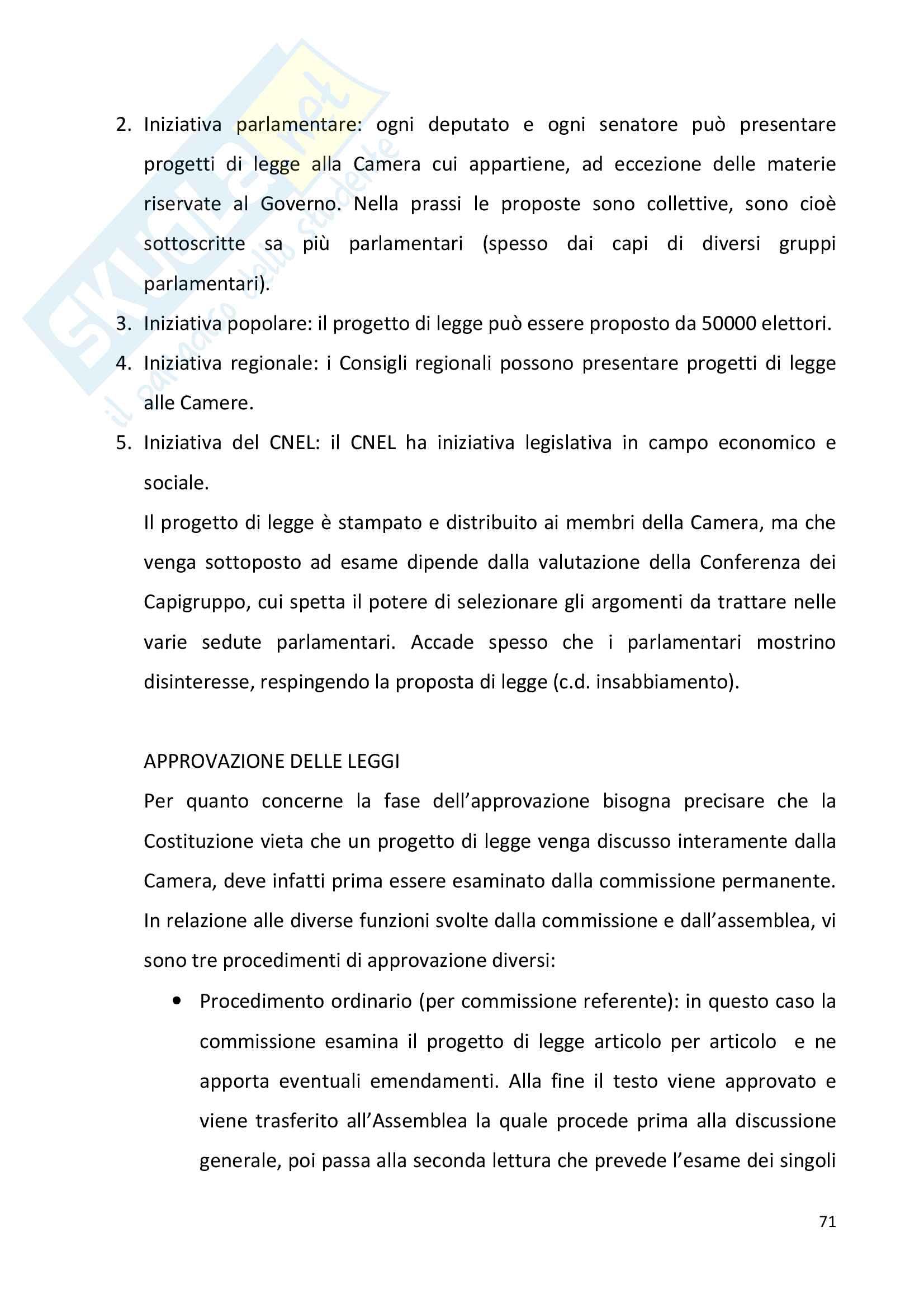 Diritto pubblico + domande Pag. 71