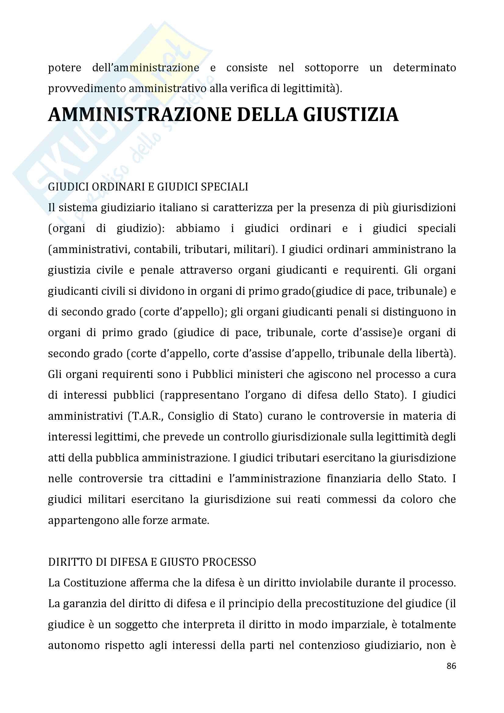 Diritto pubblico + domande Pag. 86