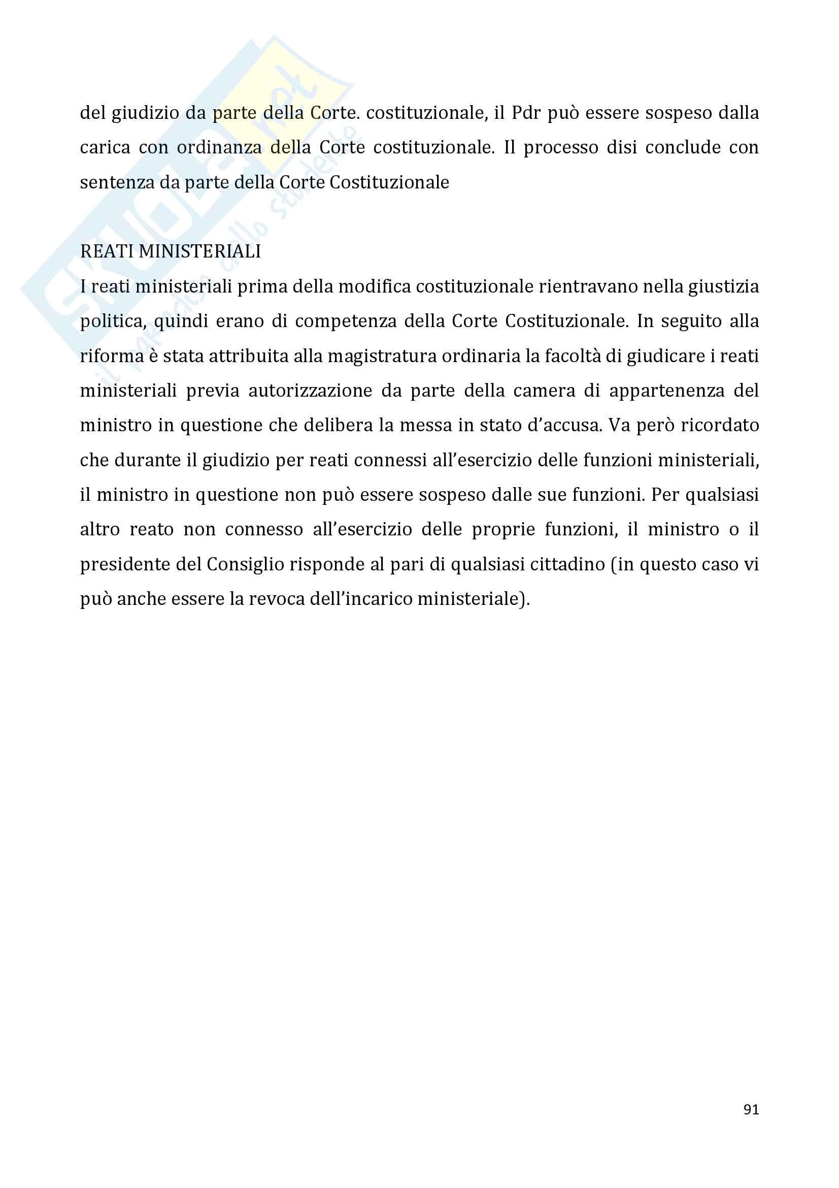 Diritto pubblico + domande Pag. 91
