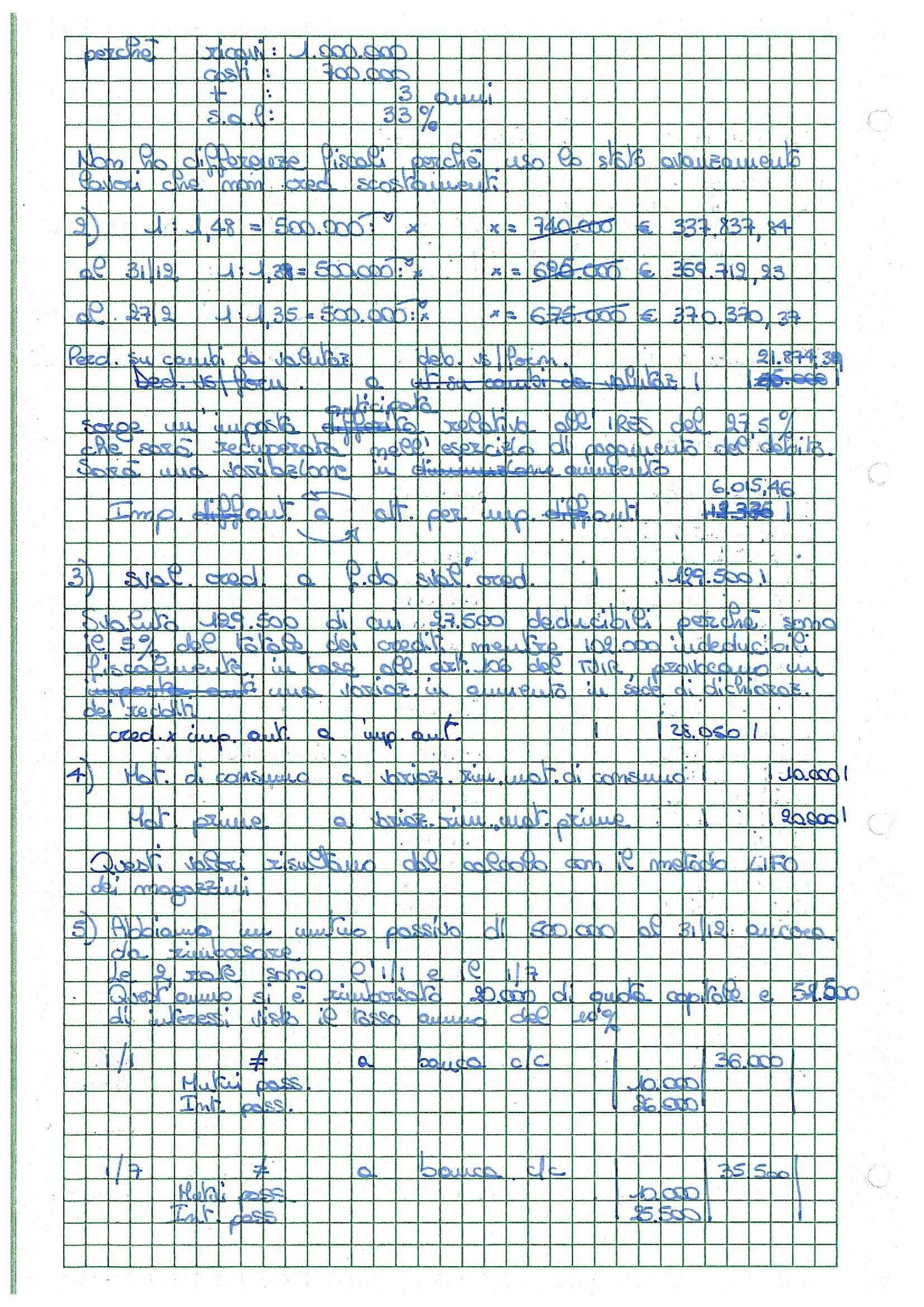Bilancio d'esercizio - Appunti Pag. 26