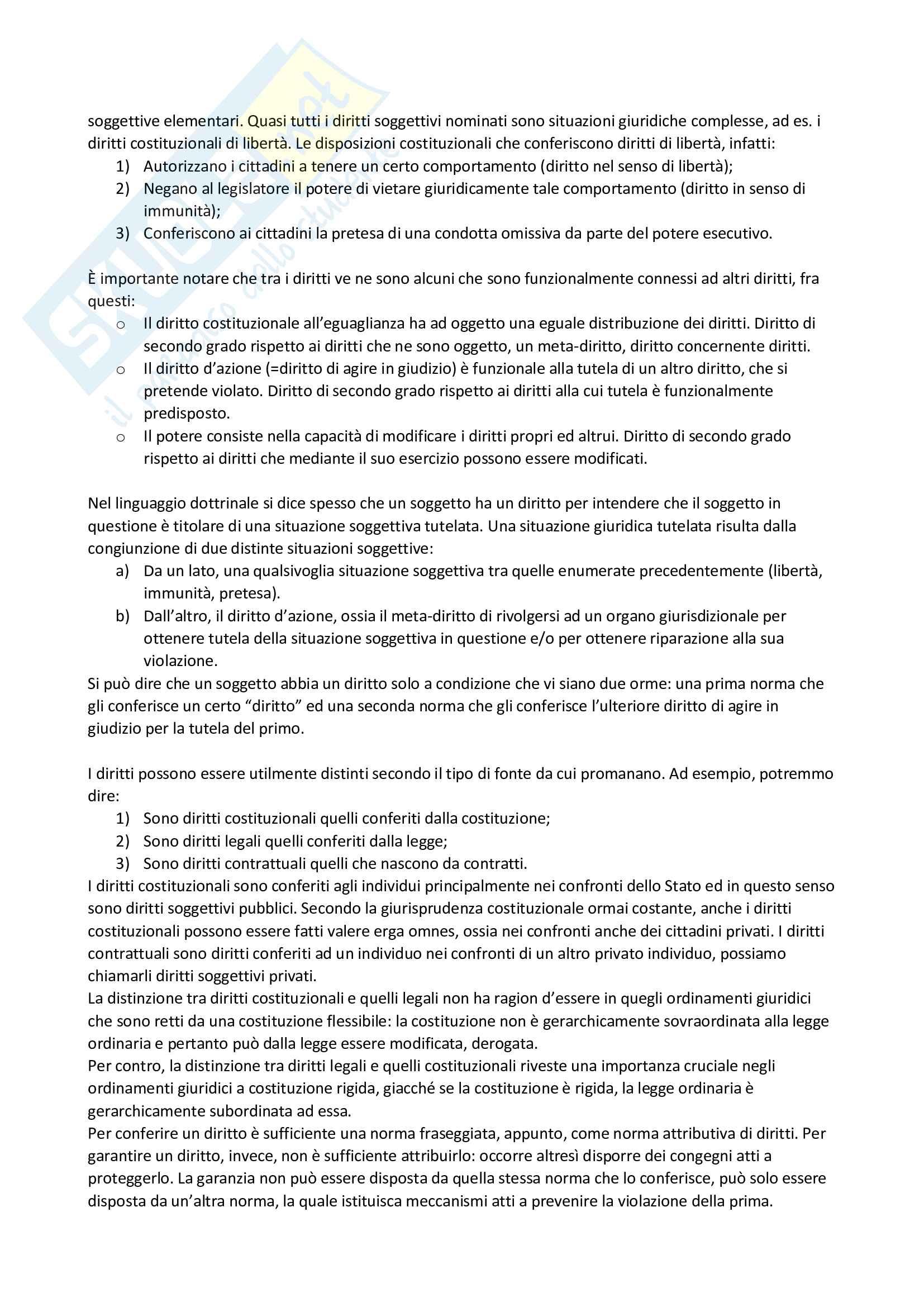Riassunto esame filosofia del diritto, prof. Velluzzi, libro consigliato Filosofia del diritto positivo, Guastini Pag. 16