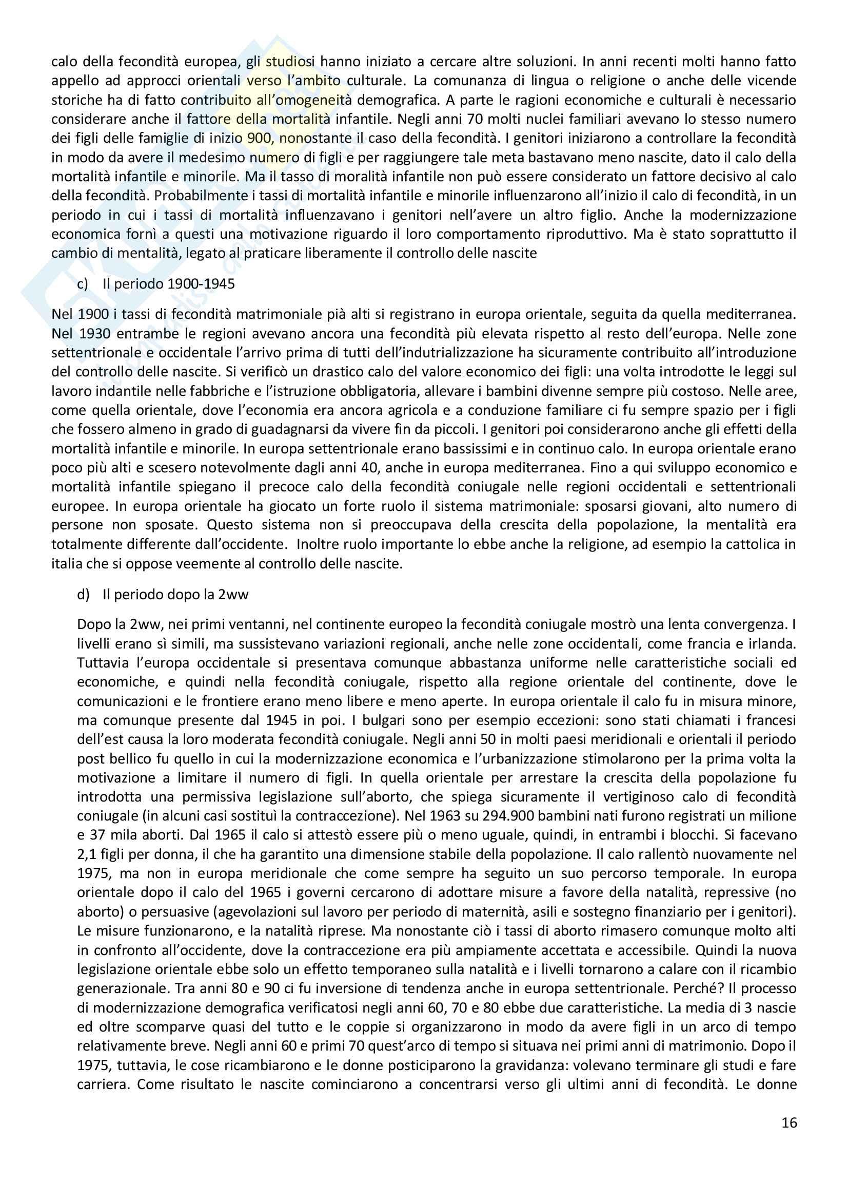 Riassunto esame Antropologia Sociale, docente Viazzo, libro consigliato Storia della famiglia in Europa il Novecento, Bargagli, Kertzer Pag. 16
