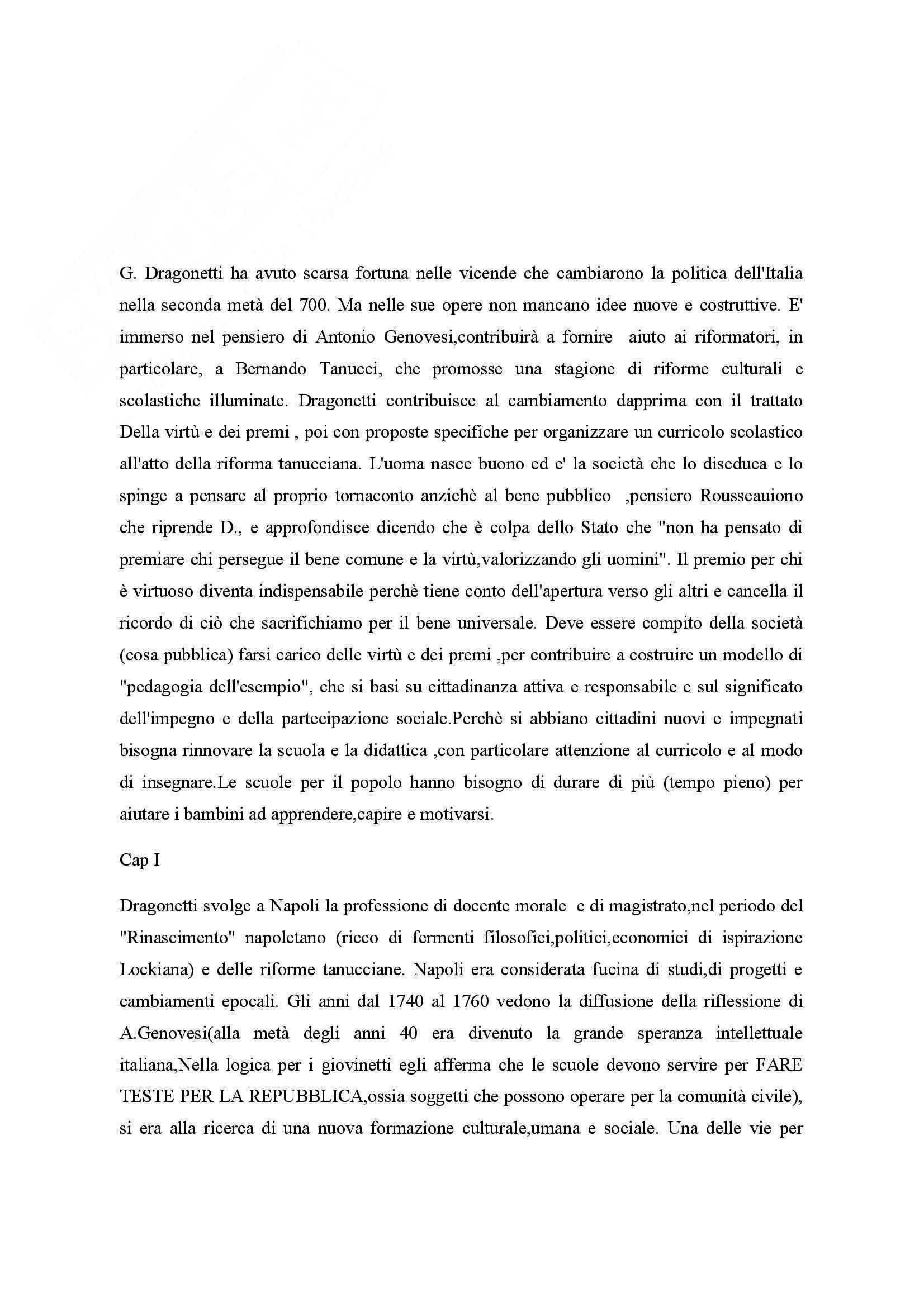 Riassunto esame Storia dell'Educazione, prof. Sindoni, libro consigliato Illuminismo e Didattica, Musello