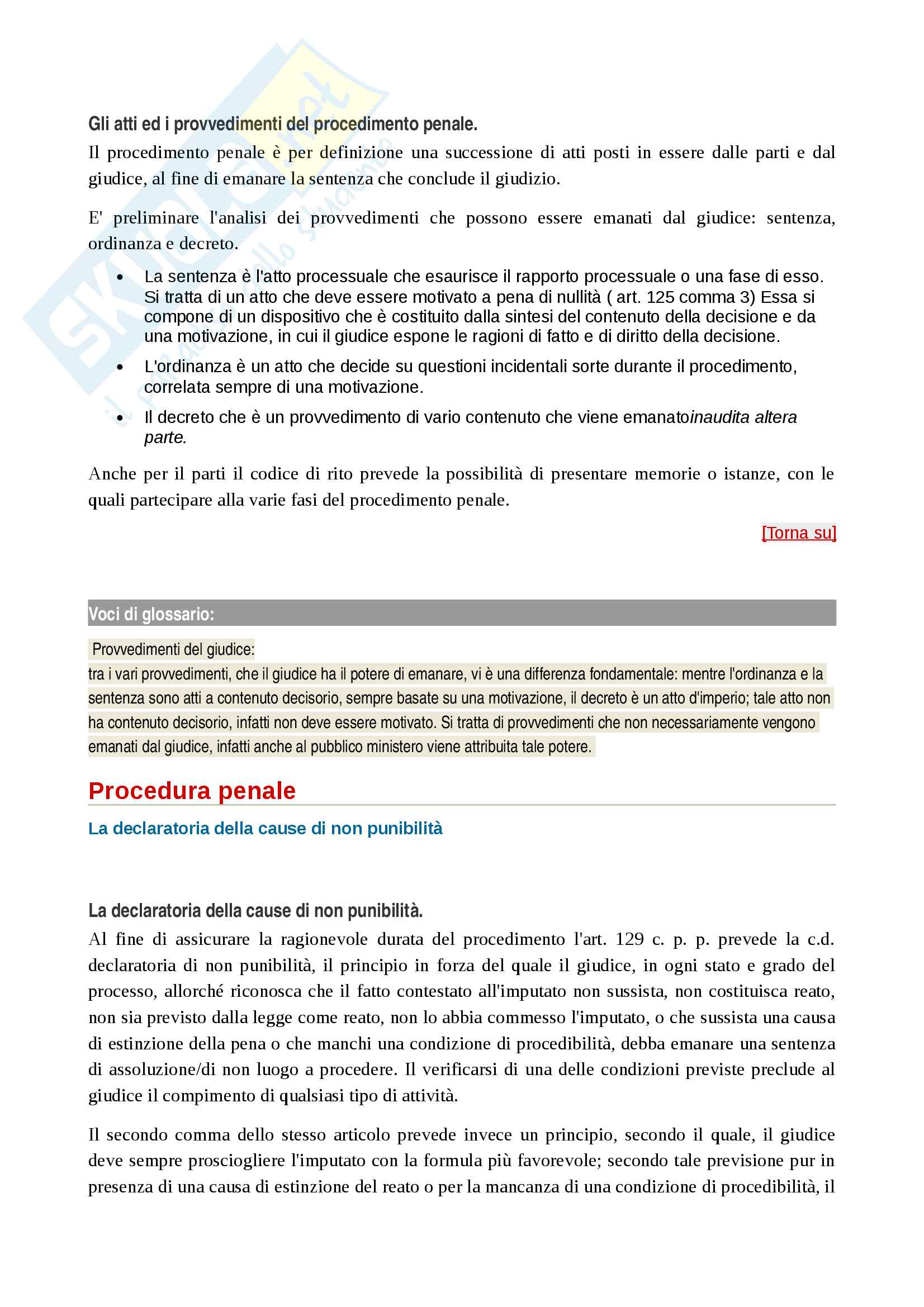 I principi ed i soggetti del procedimento penale Pag. 16
