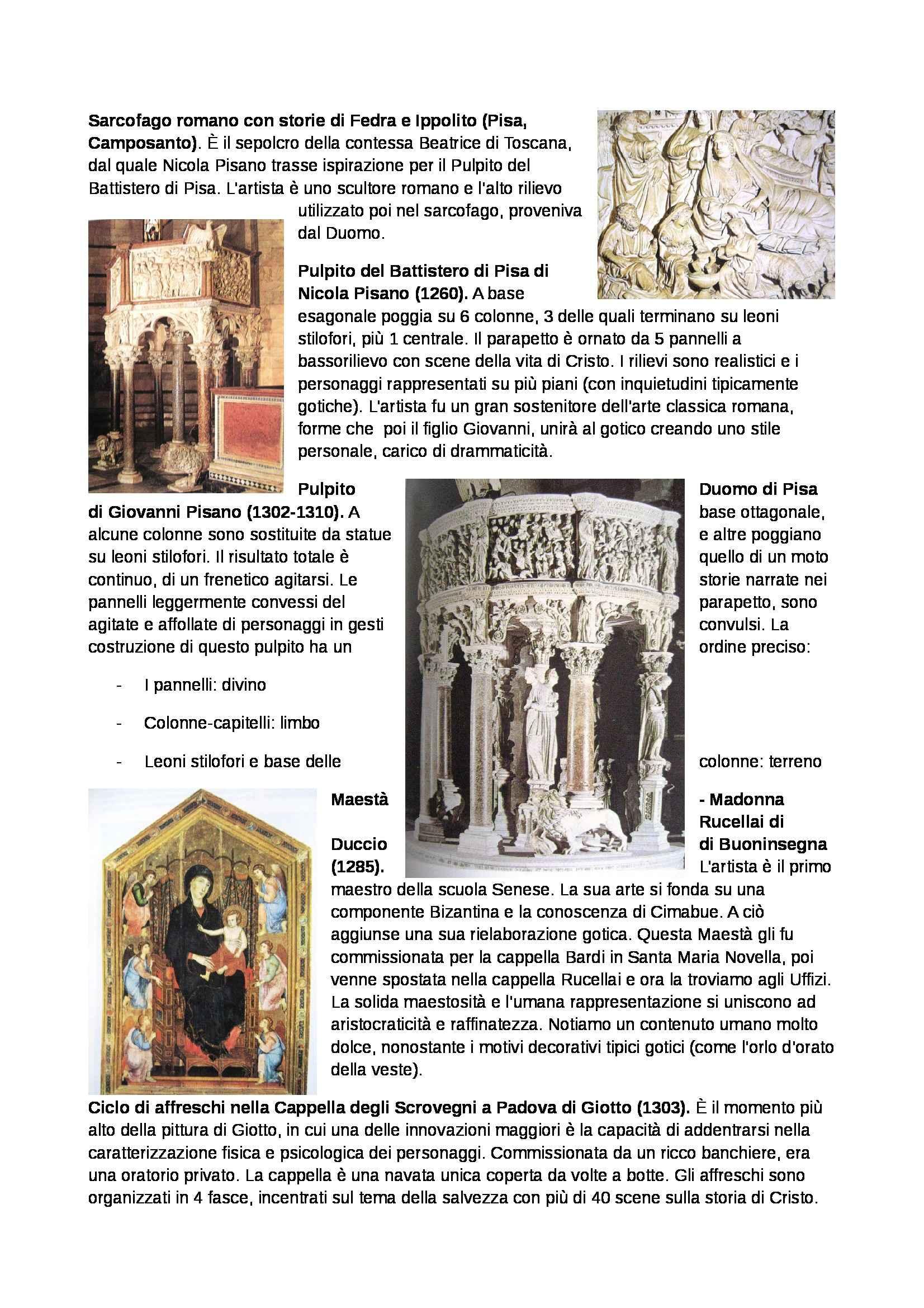Storia dell'arte - 1300