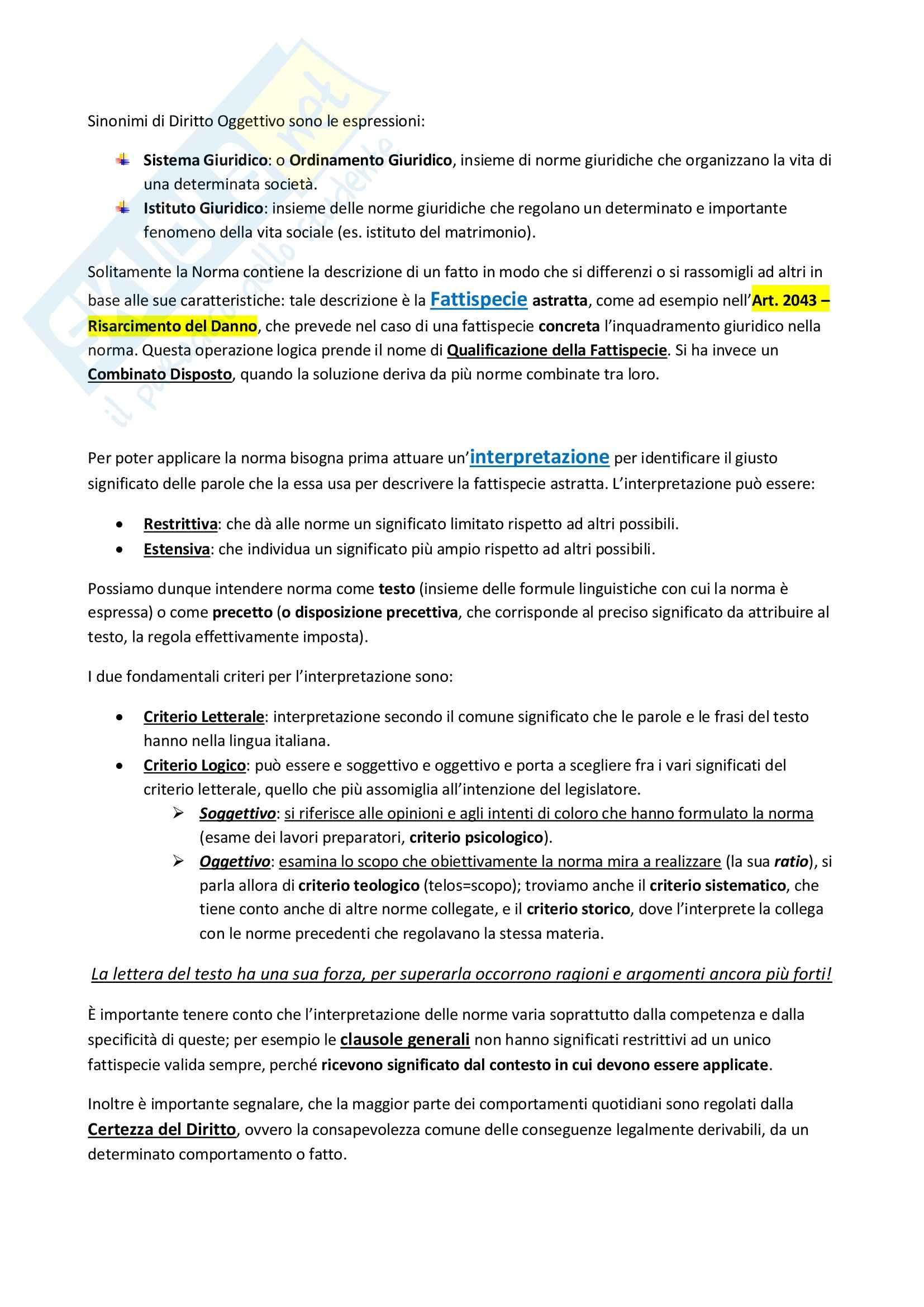 Istituzioni di Diritto privato Parte 1 e 2 Pag. 2