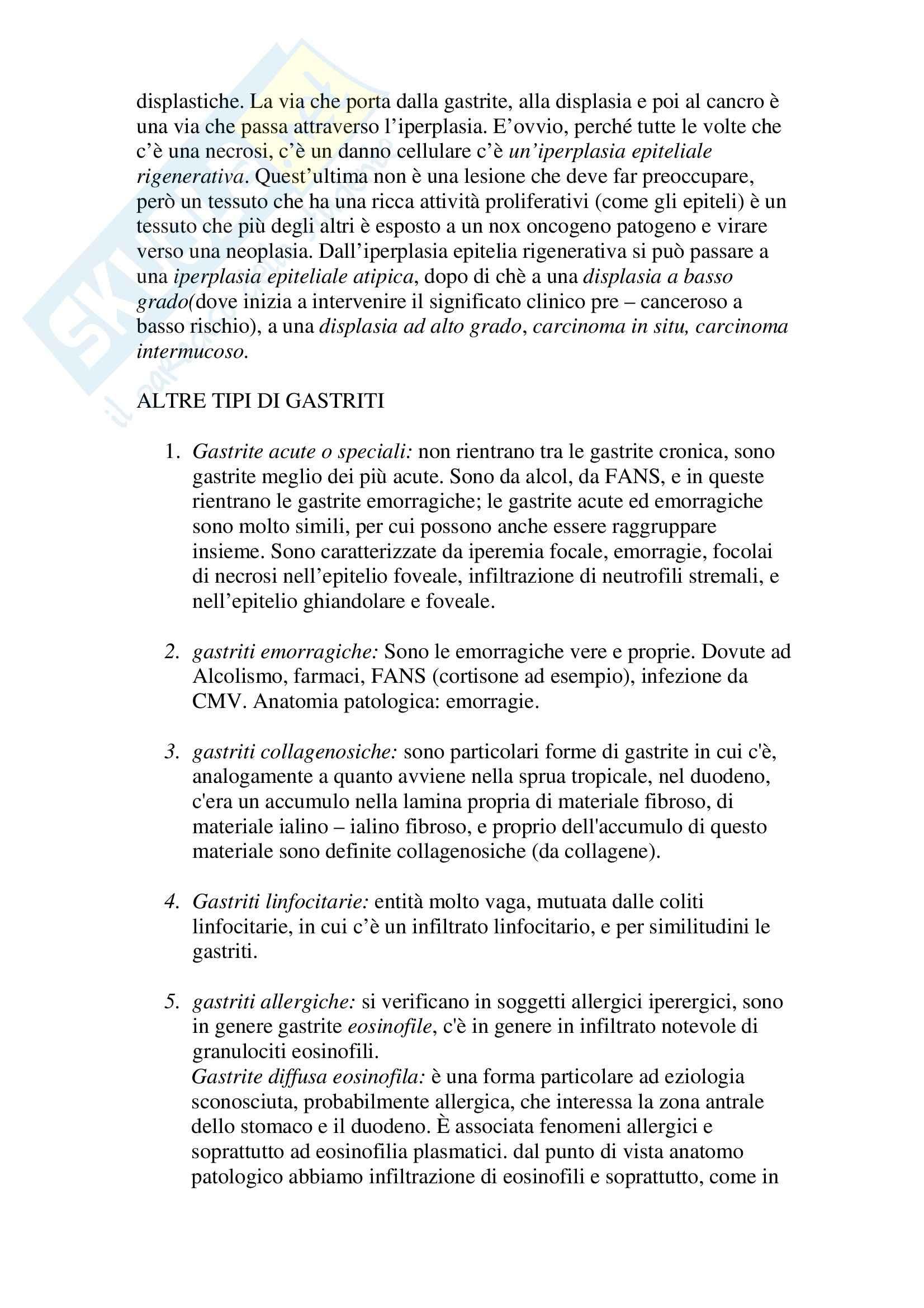 Anatomia patologica - iperplasia epiteliale Pag. 2