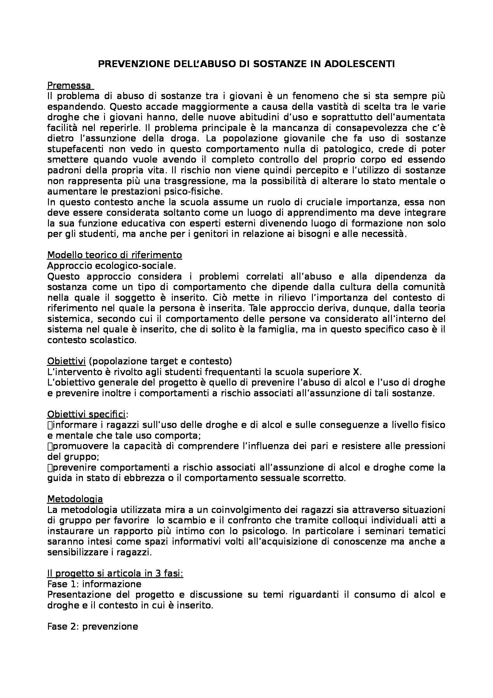 Modelli di progettazione e valutazione degli interventi educativi - 56 progetti per la prova d'esame di Stato per psicologi