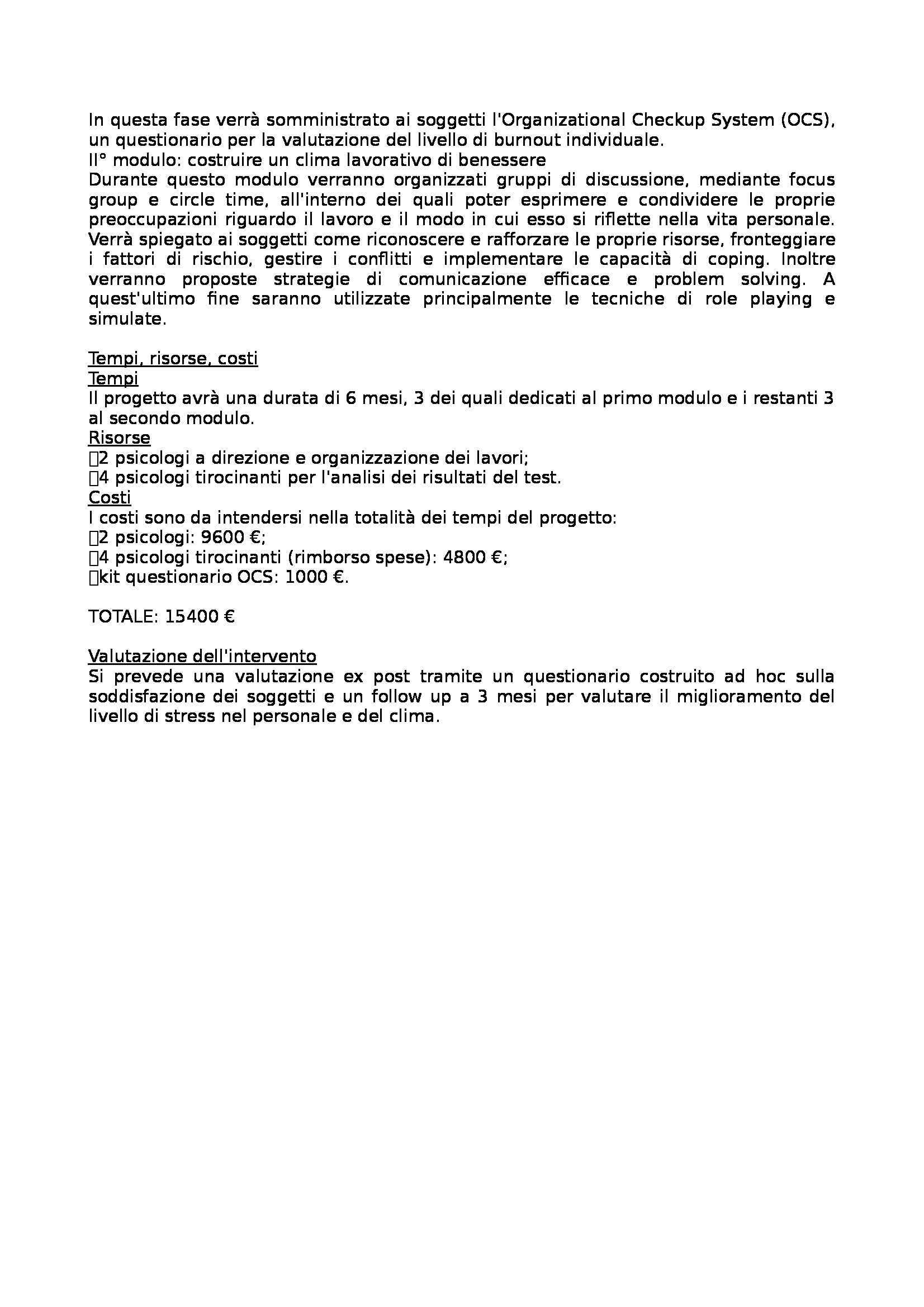 Modelli di progettazione e valutazione degli interventi educativi - 56 progetti per la prova d'esame di Stato per psicologi Pag. 6