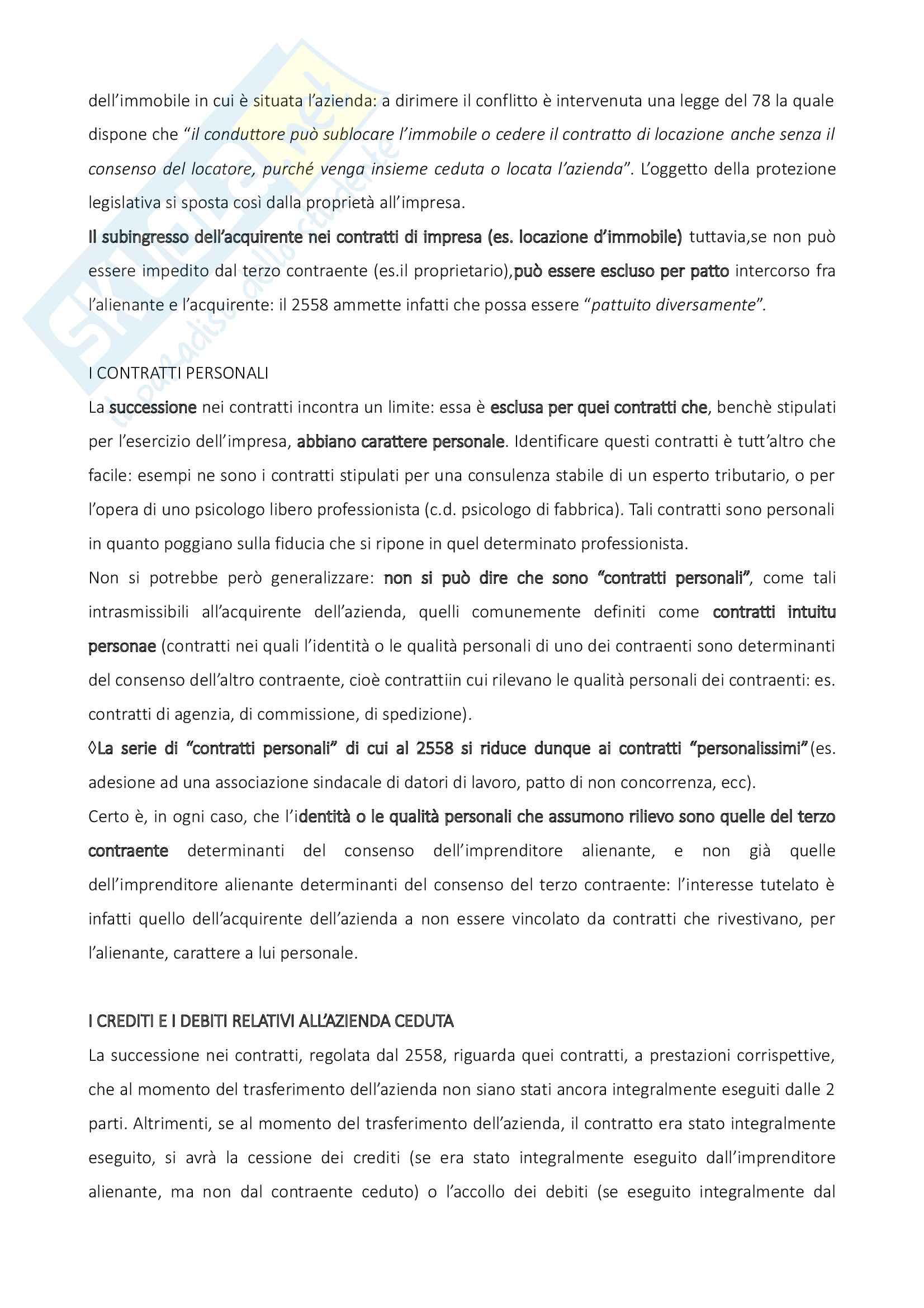 Riassunto esame di diritto commerciale, prof. Meruzzi, testo consigliato Diritto commerciale: volume 2 di Galgano Pag. 31
