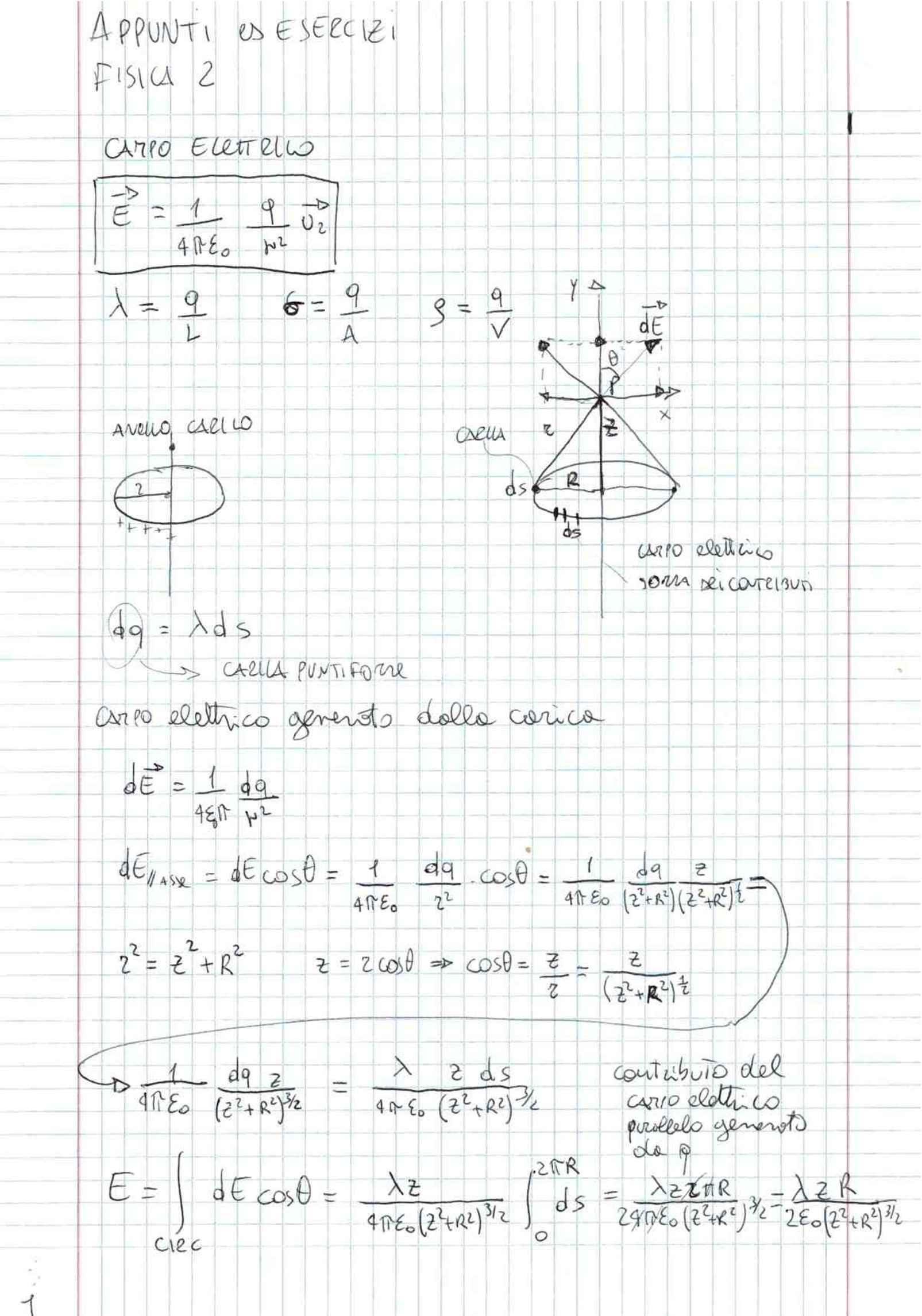 Fisica generale 2 - elettricità