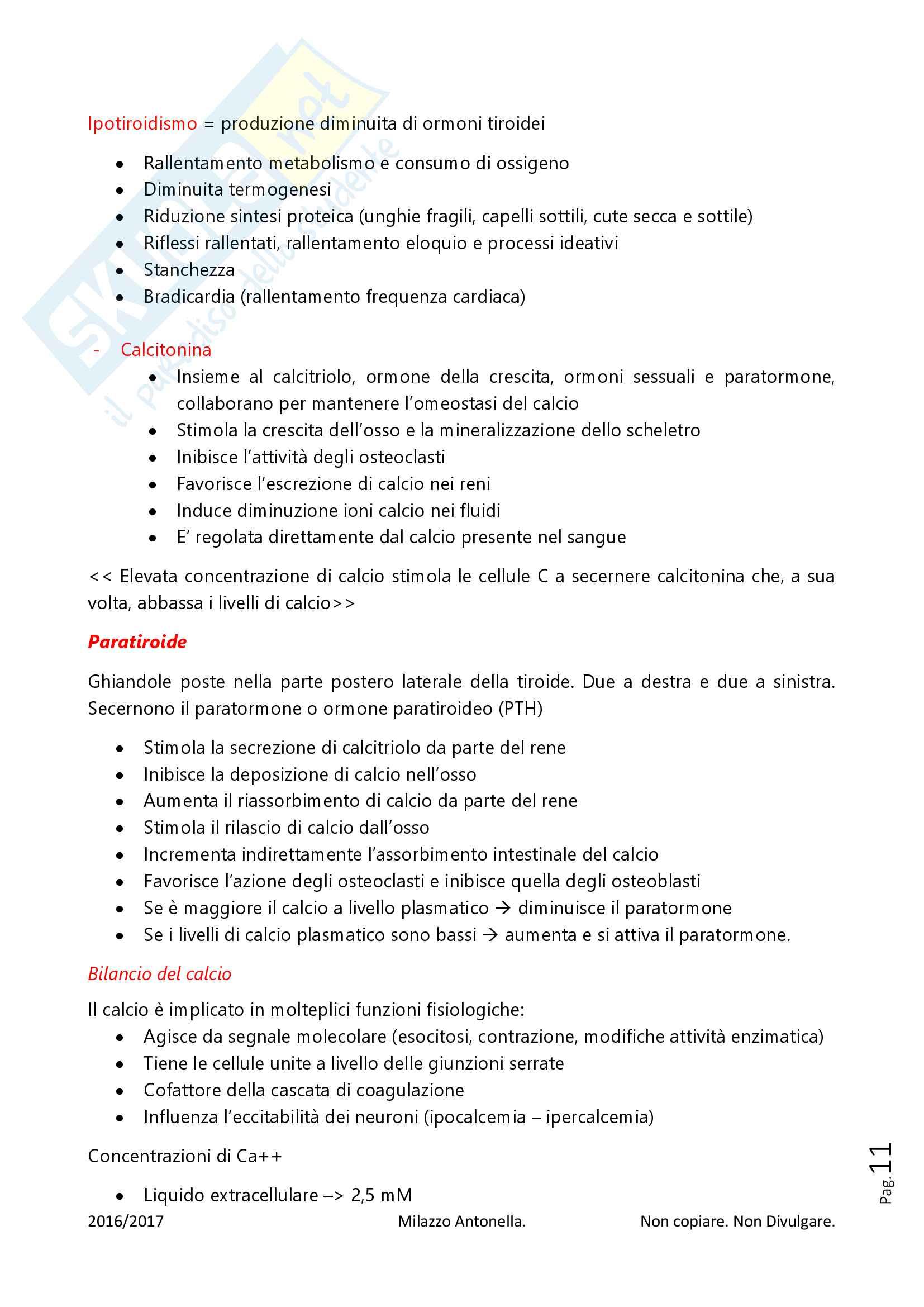 Fisiologia per Infermieristica Pag. 11