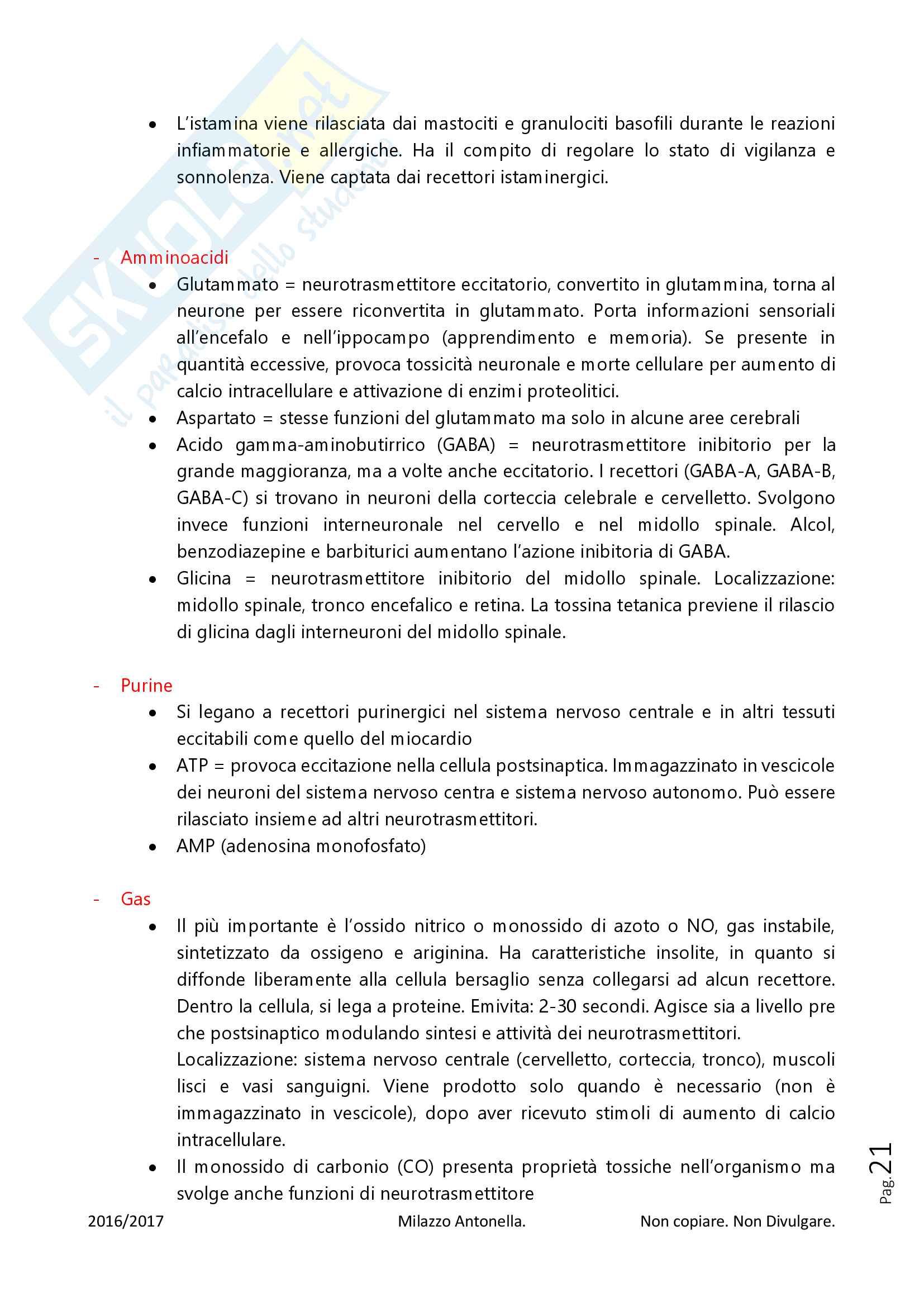 Fisiologia per Infermieristica Pag. 21