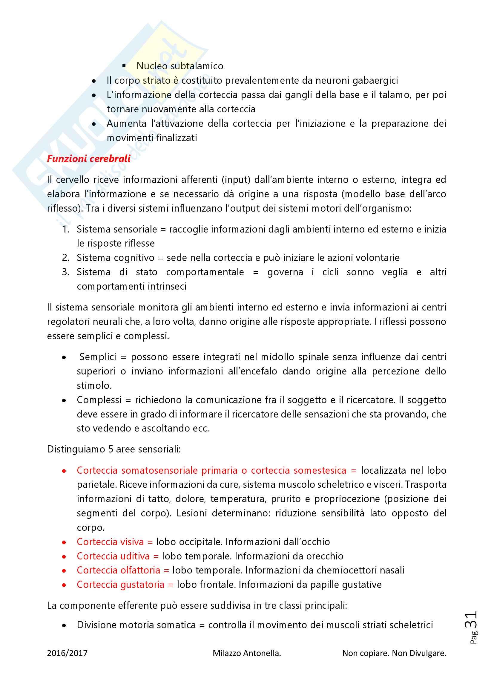 Fisiologia per Infermieristica Pag. 31
