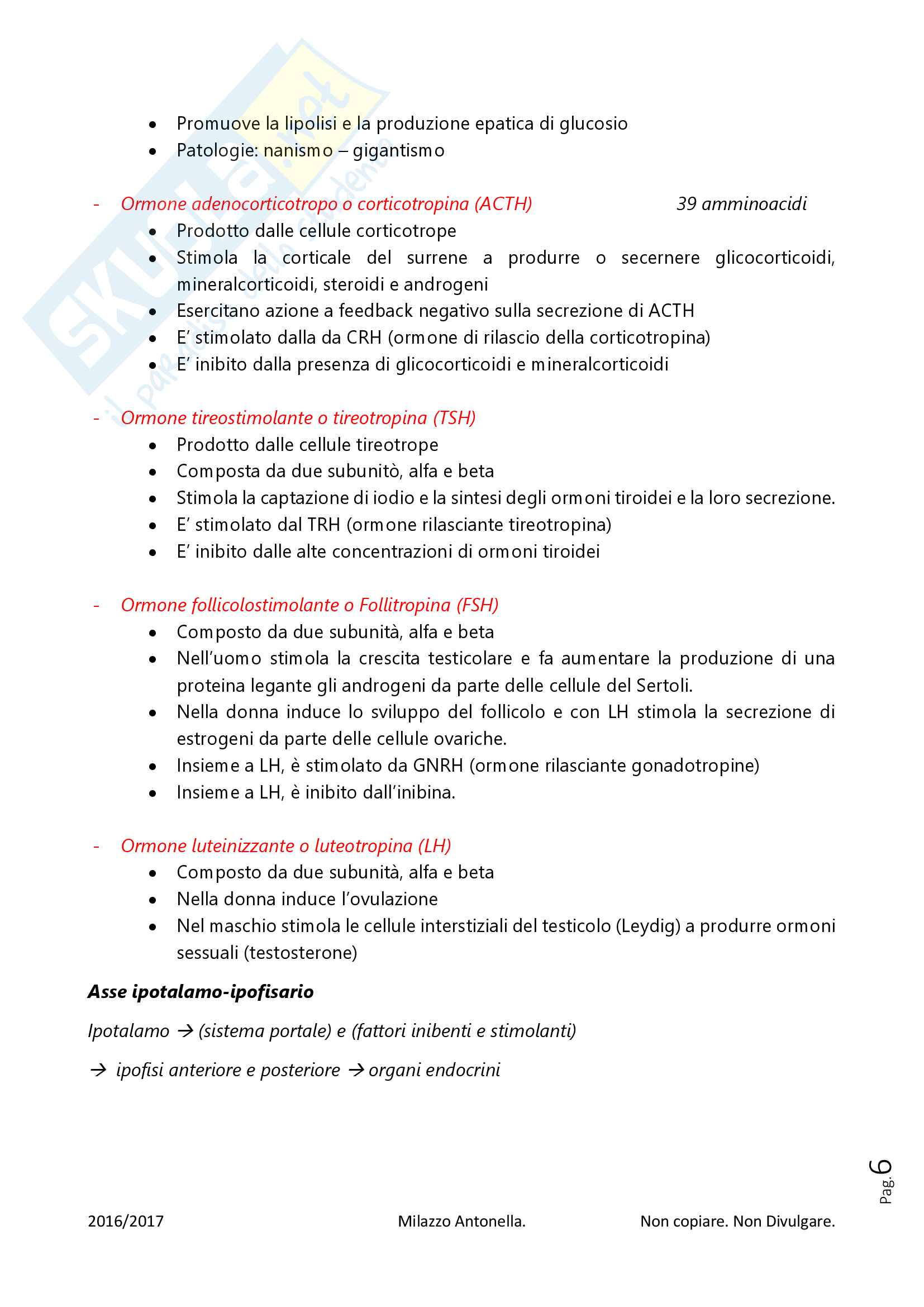 Fisiologia per Infermieristica Pag. 6