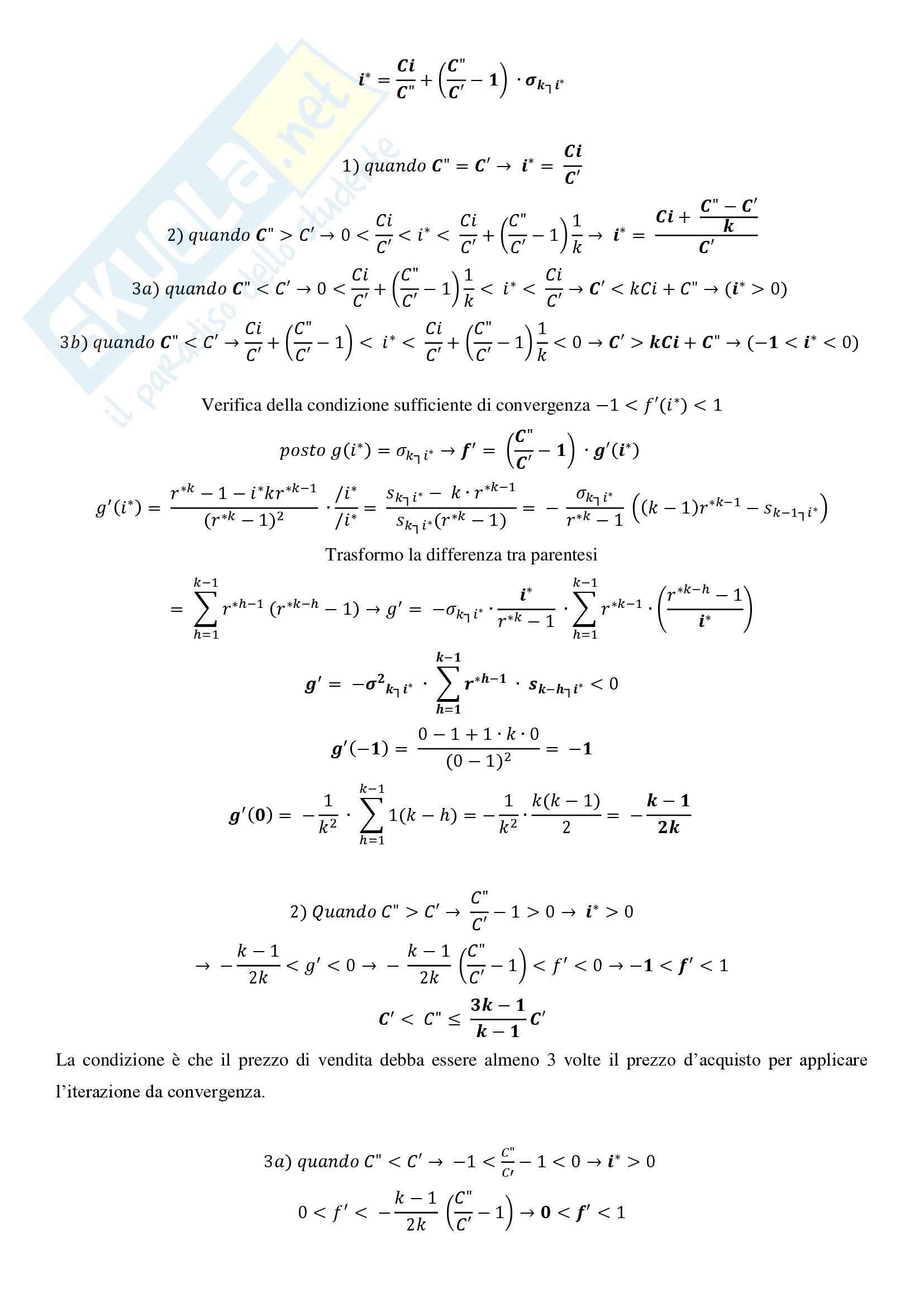 Matematica Finanziaria - Appunti Pag. 36