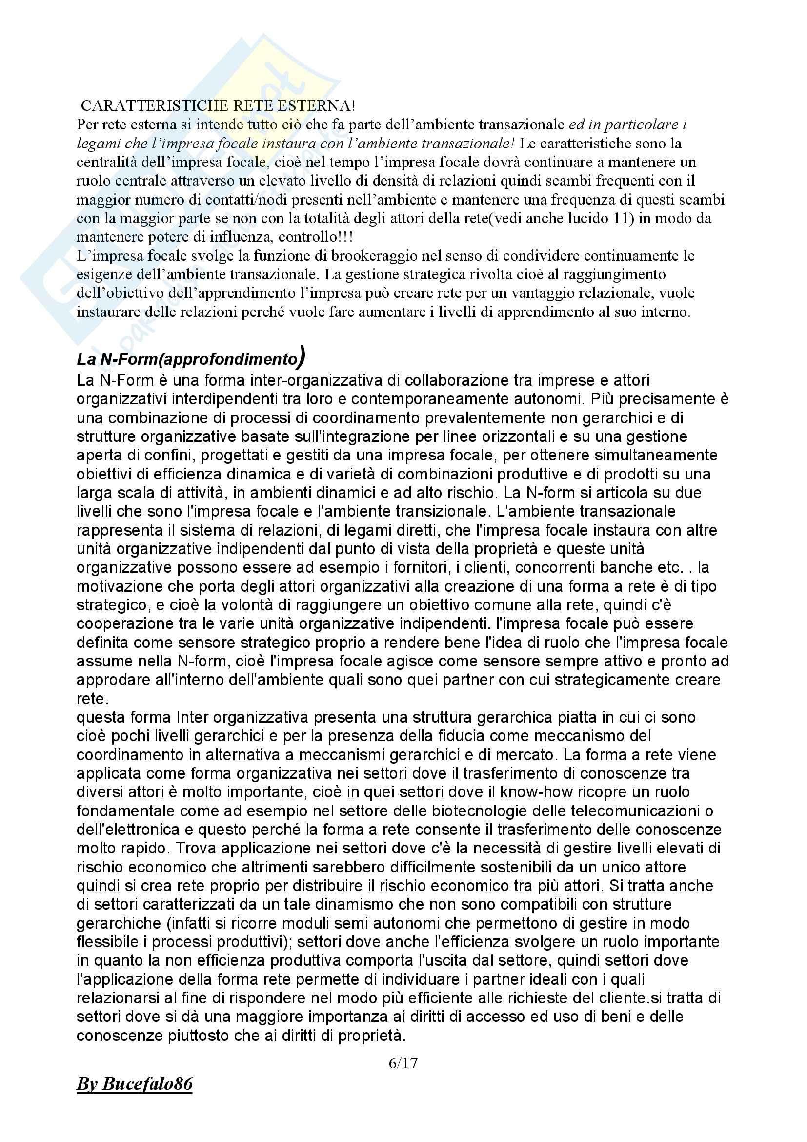 Organizzazione aziendale - lezioni Pag. 6