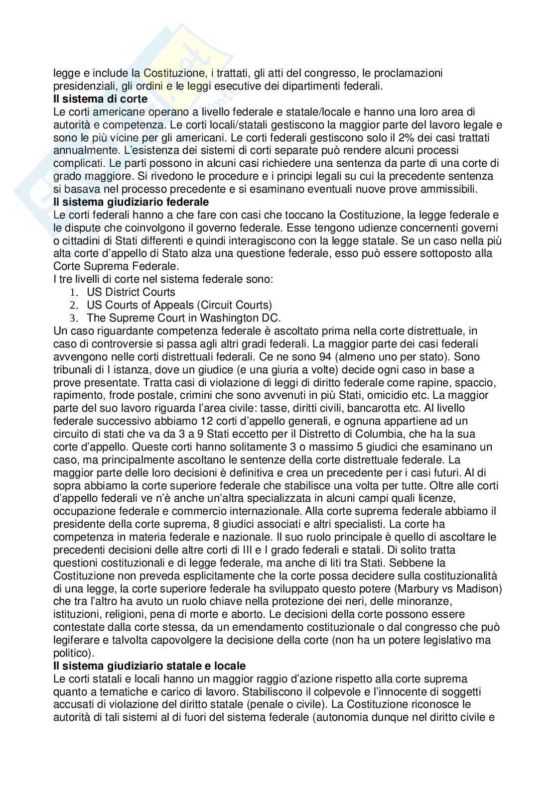 Riassunto esame Cultura dei Paesi anglofoni, prof. Vizzaccaro, libro consigliato American Civilization: An Introduction, Mauk, Oakland Pag. 36