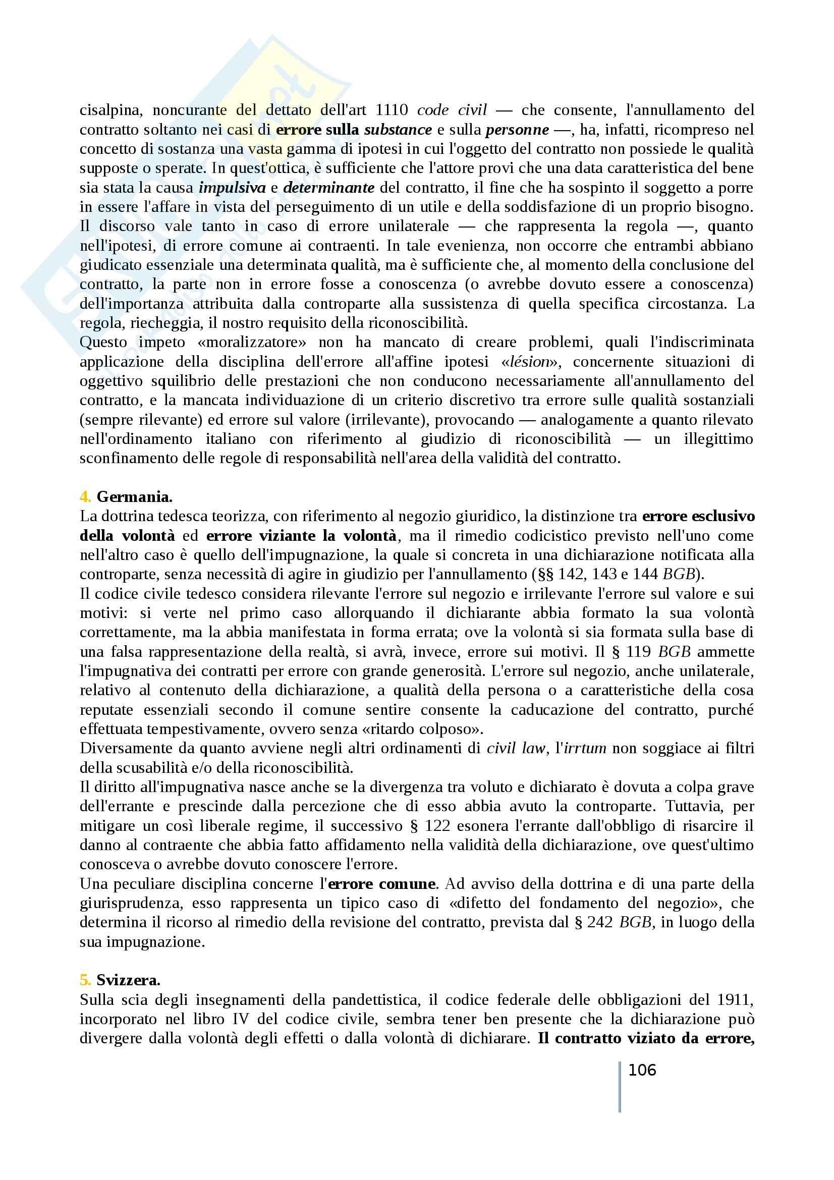 Riassunto esame diritto privato comparato, prof. Timoteo, libro consigliato Atlante di diritto privato comparato, Galgano, Ferrari, Ajani Pag. 106