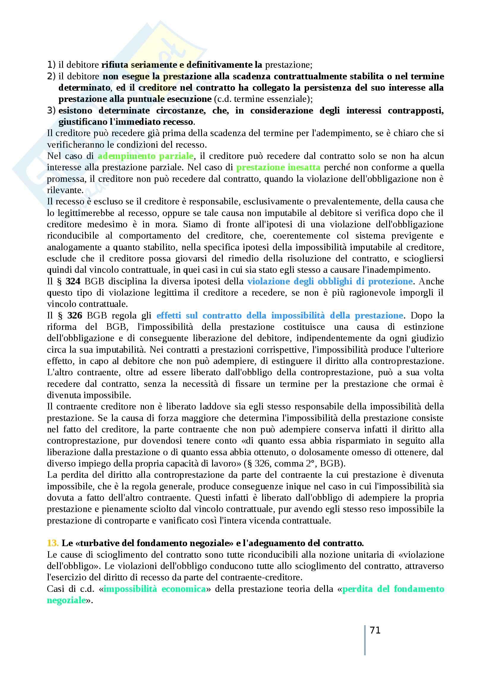 Riassunto esame diritto privato comparato, prof. Timoteo, libro consigliato Atlante di diritto privato comparato, Galgano, Ferrari, Ajani Pag. 71