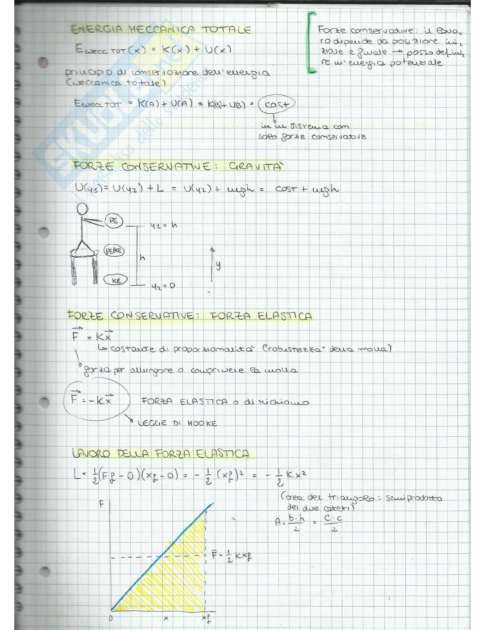 Appunti di Fisica Applicata (cinematica, dinamica, moto circolare, gravitazione, lavoro, quantità di moto, moto rotatorio, equilibrio) Pag. 31
