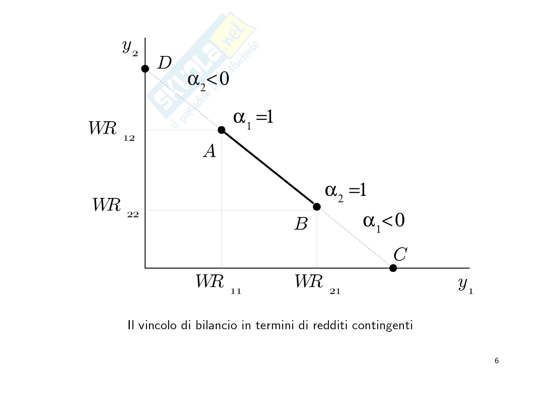 Economia finanziaria - la scelta di portafoglio Pag. 6