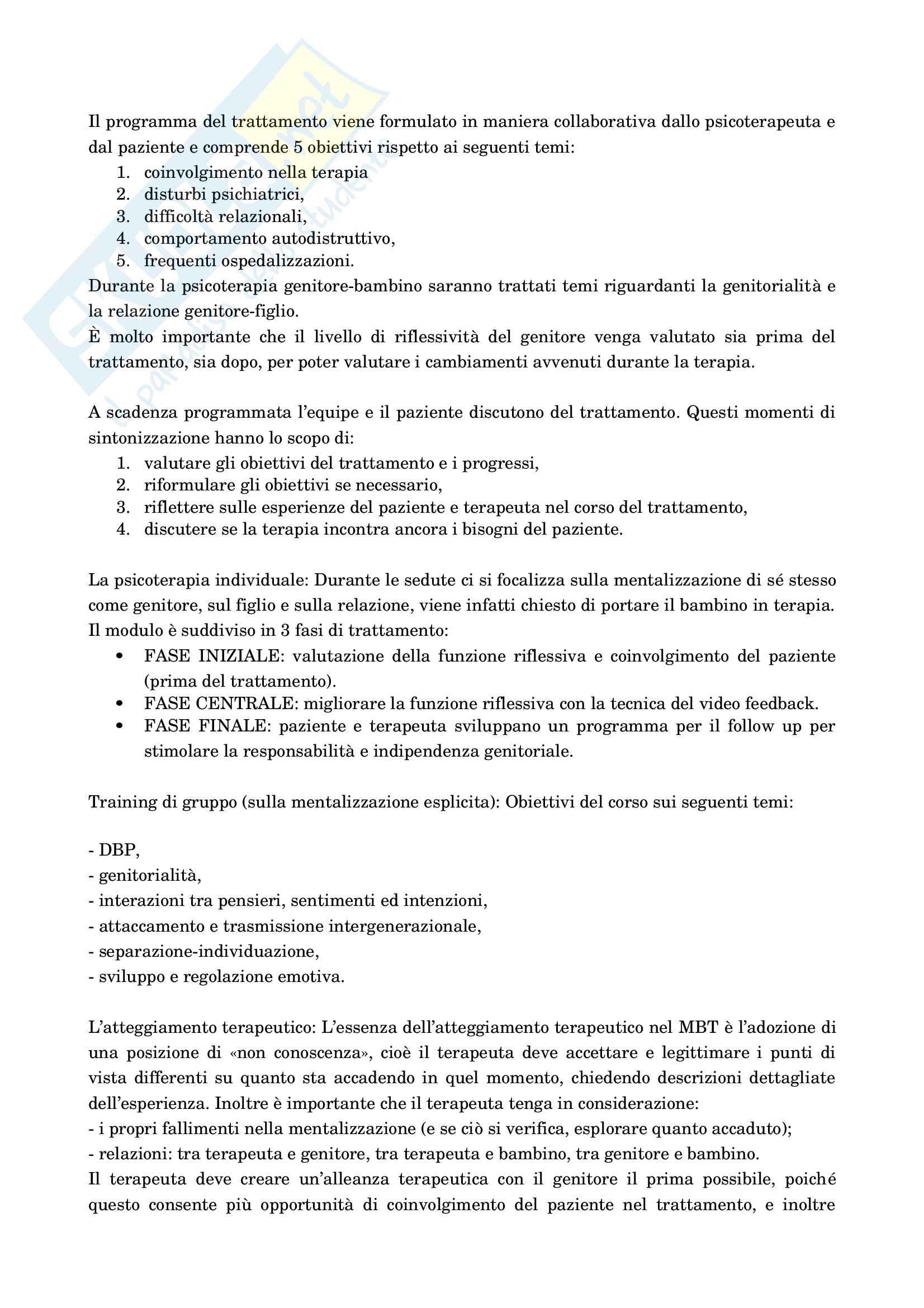 Psicologia dello sviluppo socio-affettivo Pag. 86
