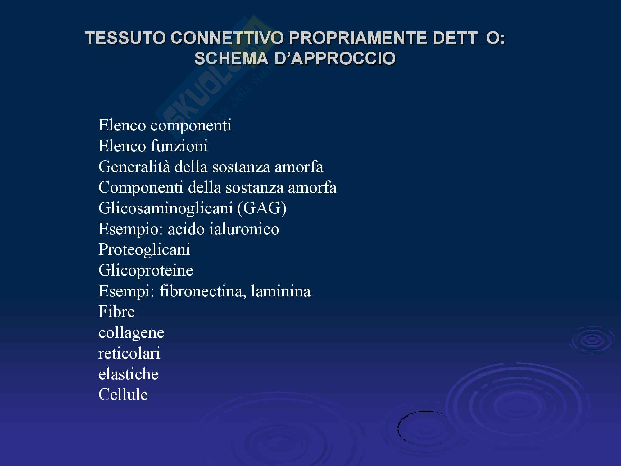 appunto E. Caramelli Istologia