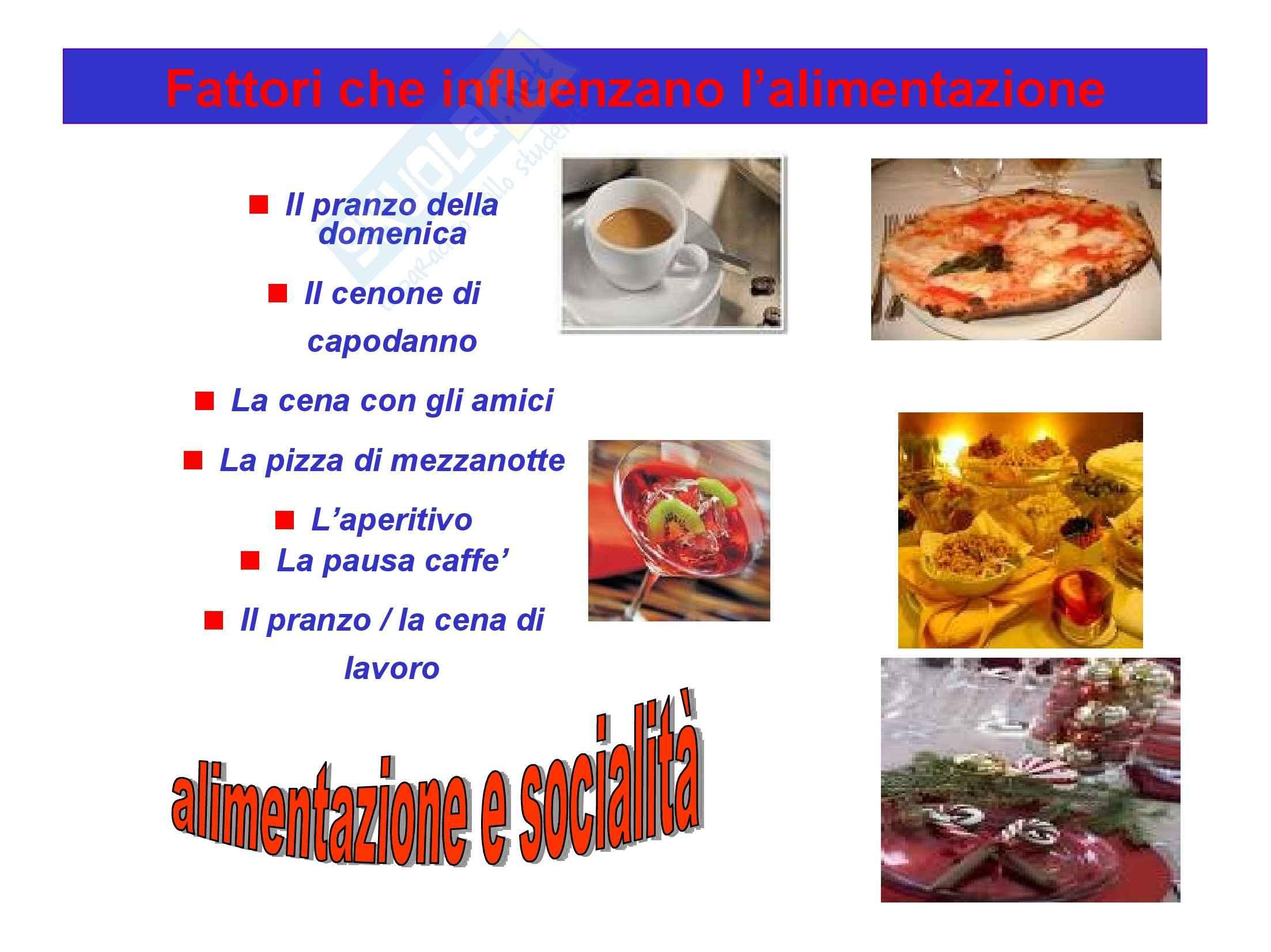 Infermieristica Clinica I – Alimentazione – Concetti generali Pag. 6