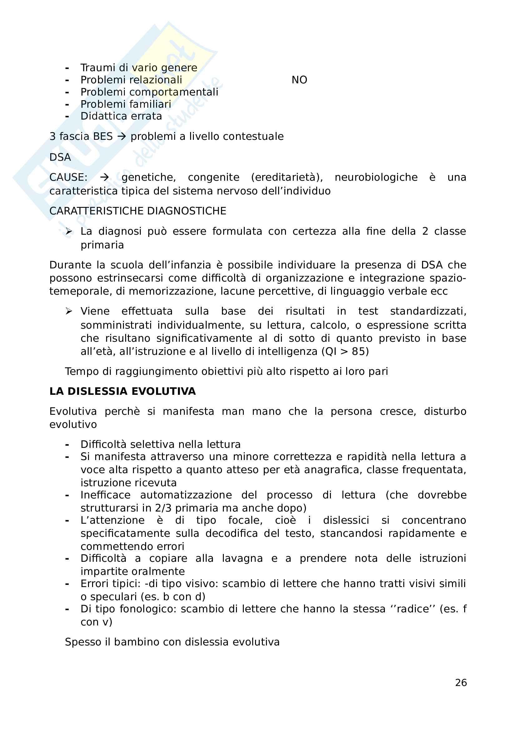 Appunti esame Pedagogia speciale Pag. 26