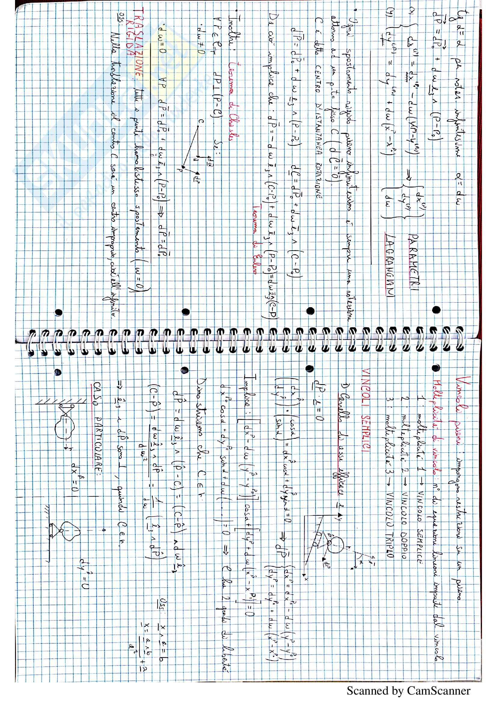 Scienza delle Costruzioni (corso completo) prof. Laragione Pag. 11