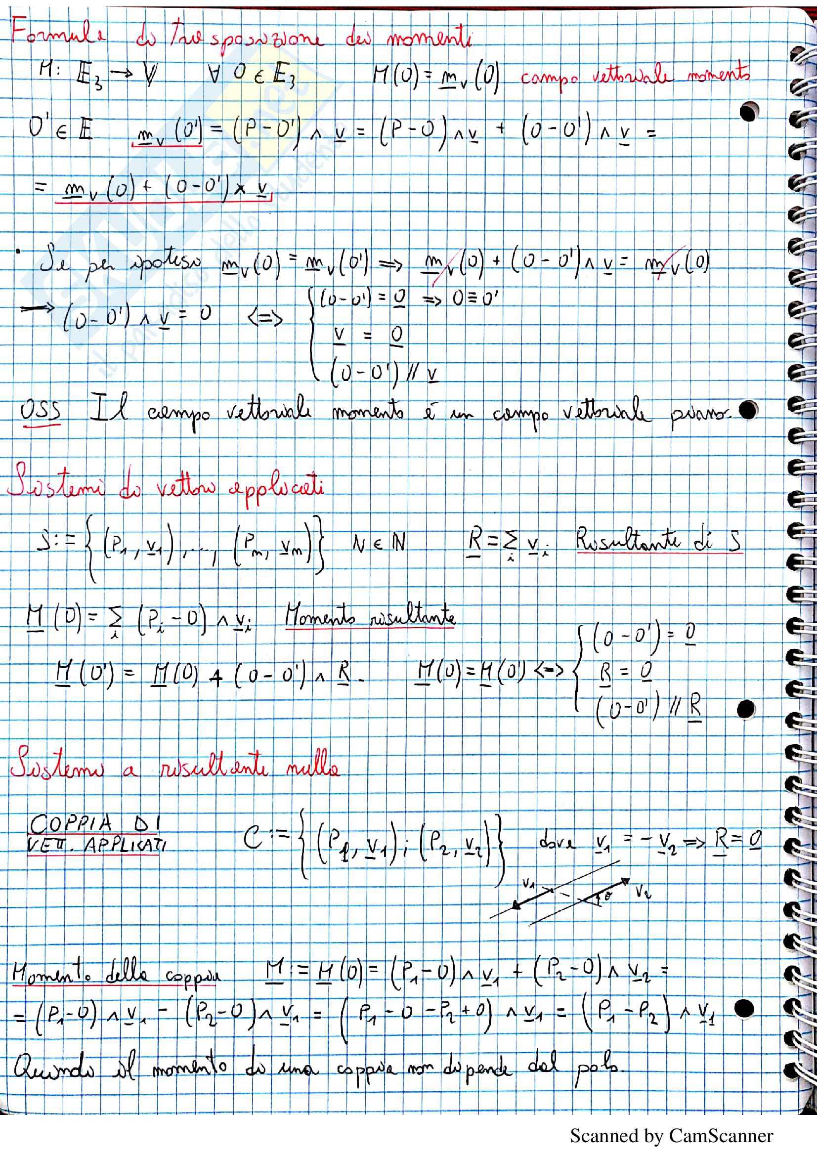 Scienza delle Costruzioni (corso completo) prof. Laragione Pag. 2