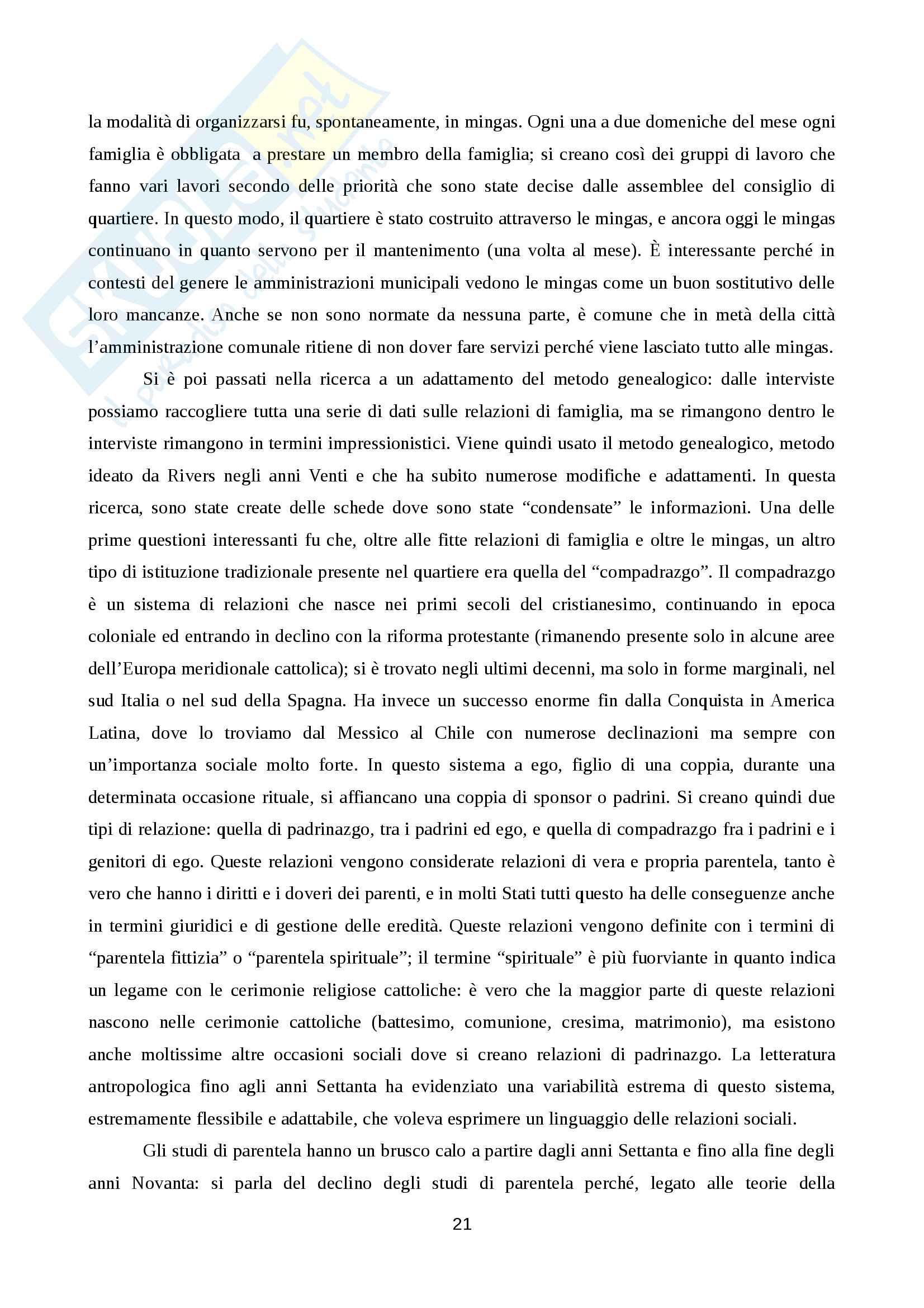 Etnologia delle Americhe, appunti Pag. 21