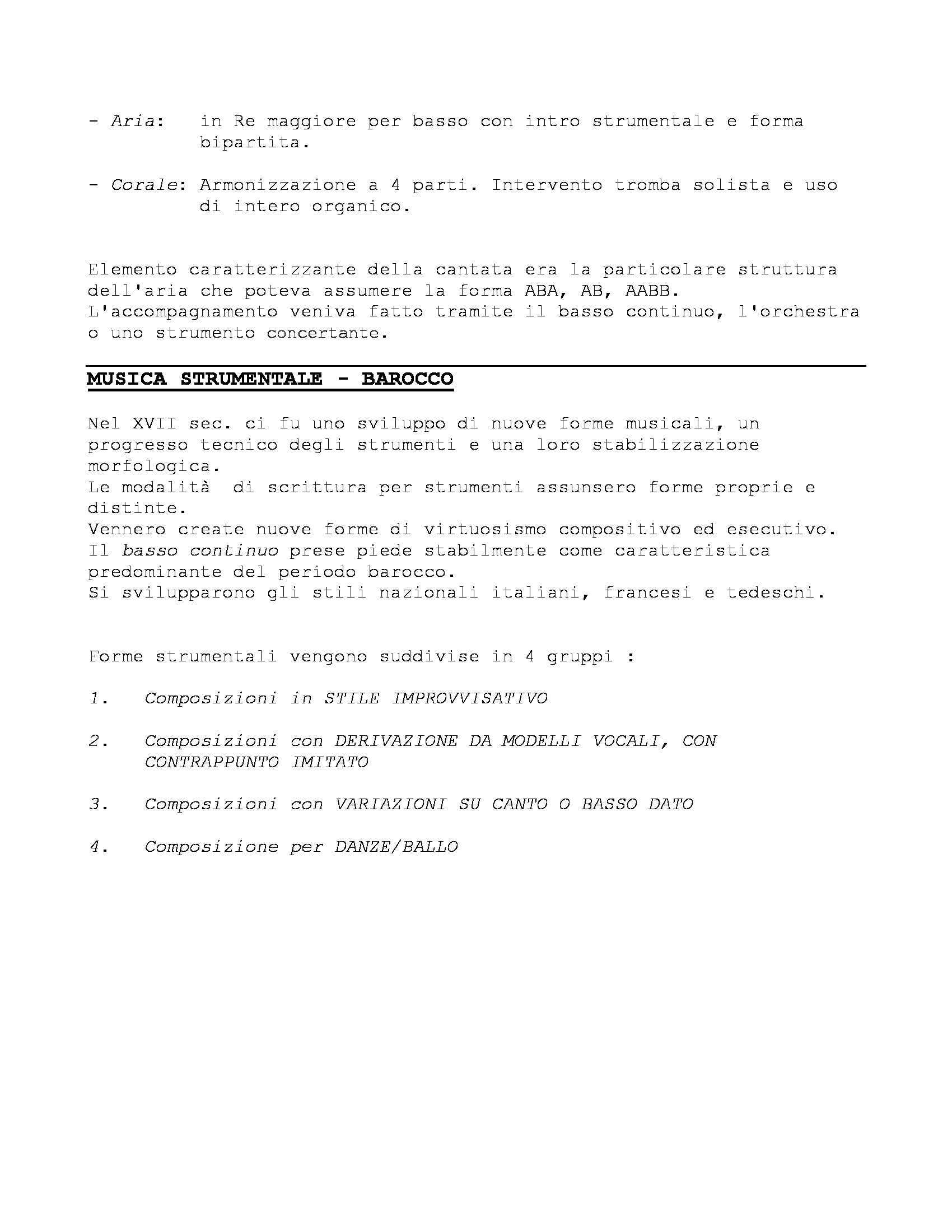 Storia delle Forme e Repertori Musicali 1 - Appunti Pag. 26