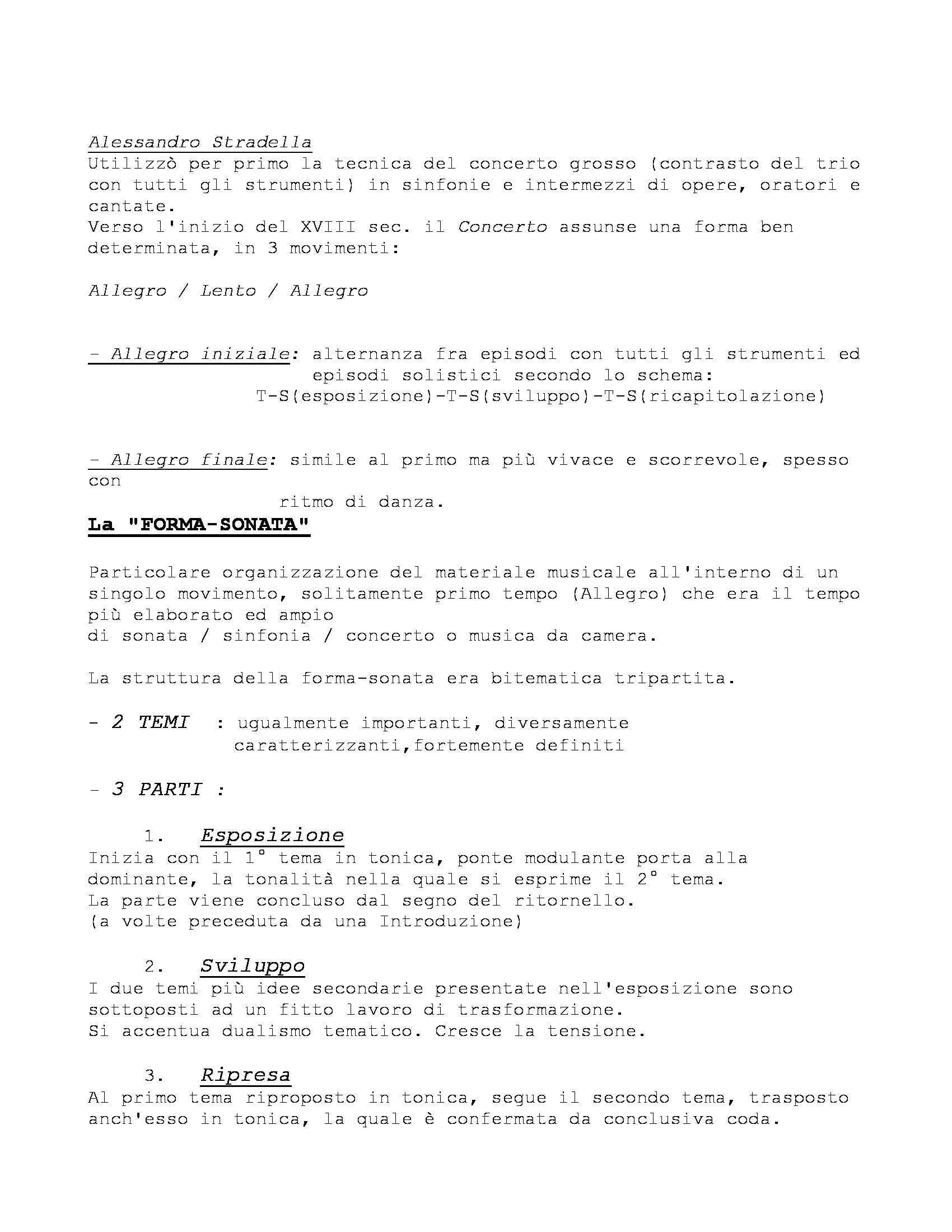 Storia delle Forme e Repertori Musicali 1 - Appunti Pag. 31