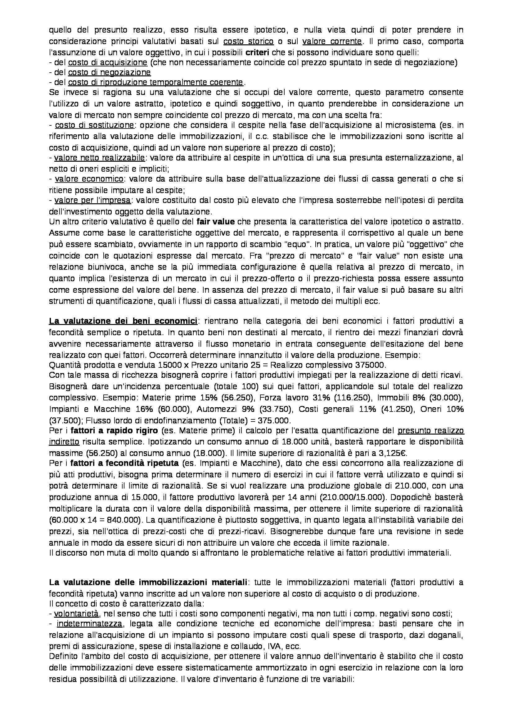 Riassunto esame Ragioneria generale, prof. Pastore, libro consigliato Fondamenti di teoria aziendale, Pastore Pag. 11