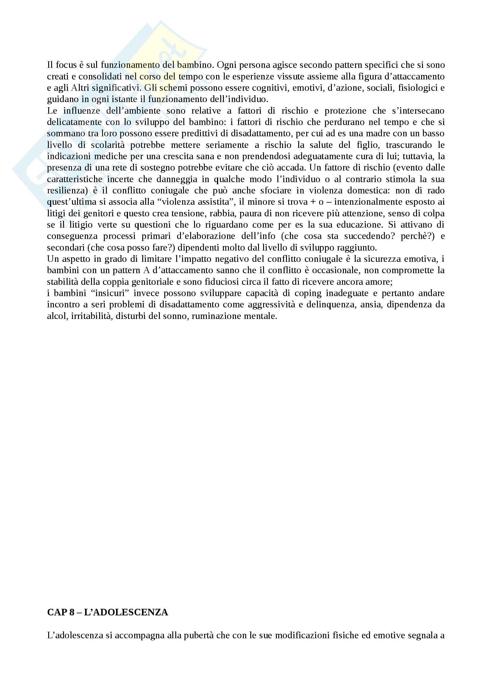 Riassunto esame Psicologia dello sviluppo, prof. Carugati, libro consigliato, Camaioni, Di Blasio Pag. 31
