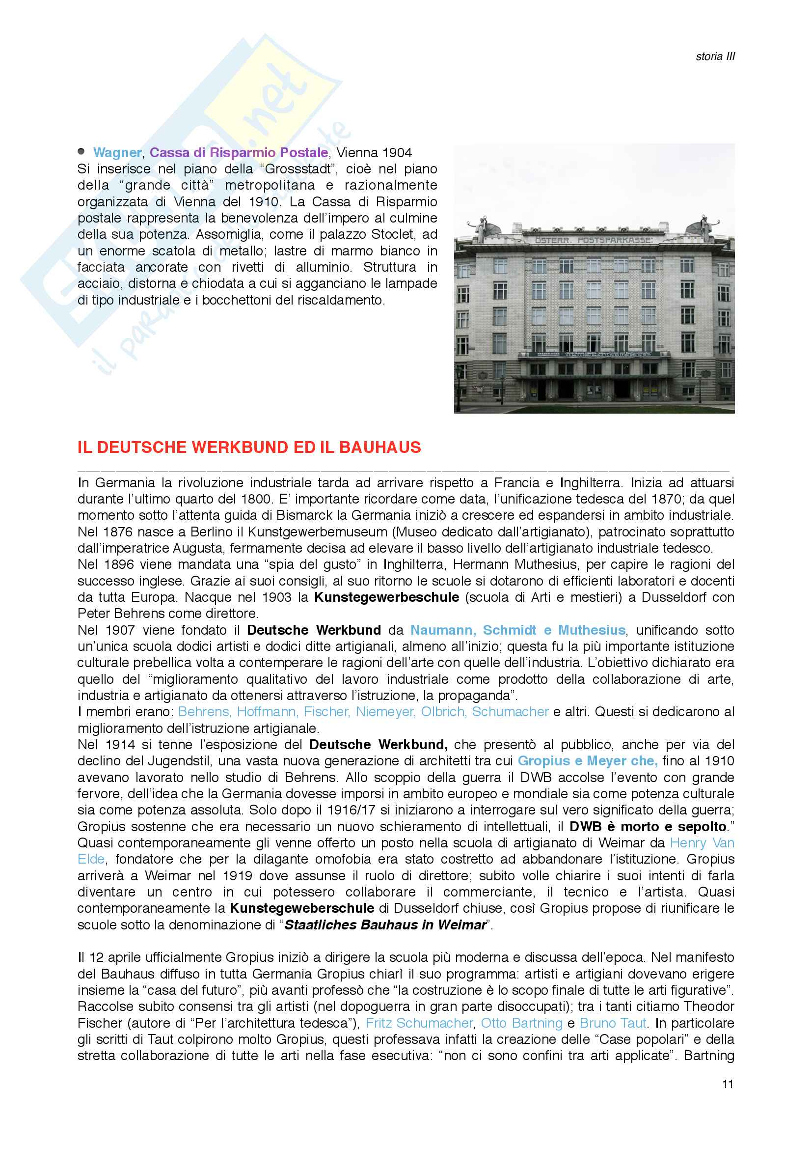 Storia III_Architettura Moderna Pag. 11