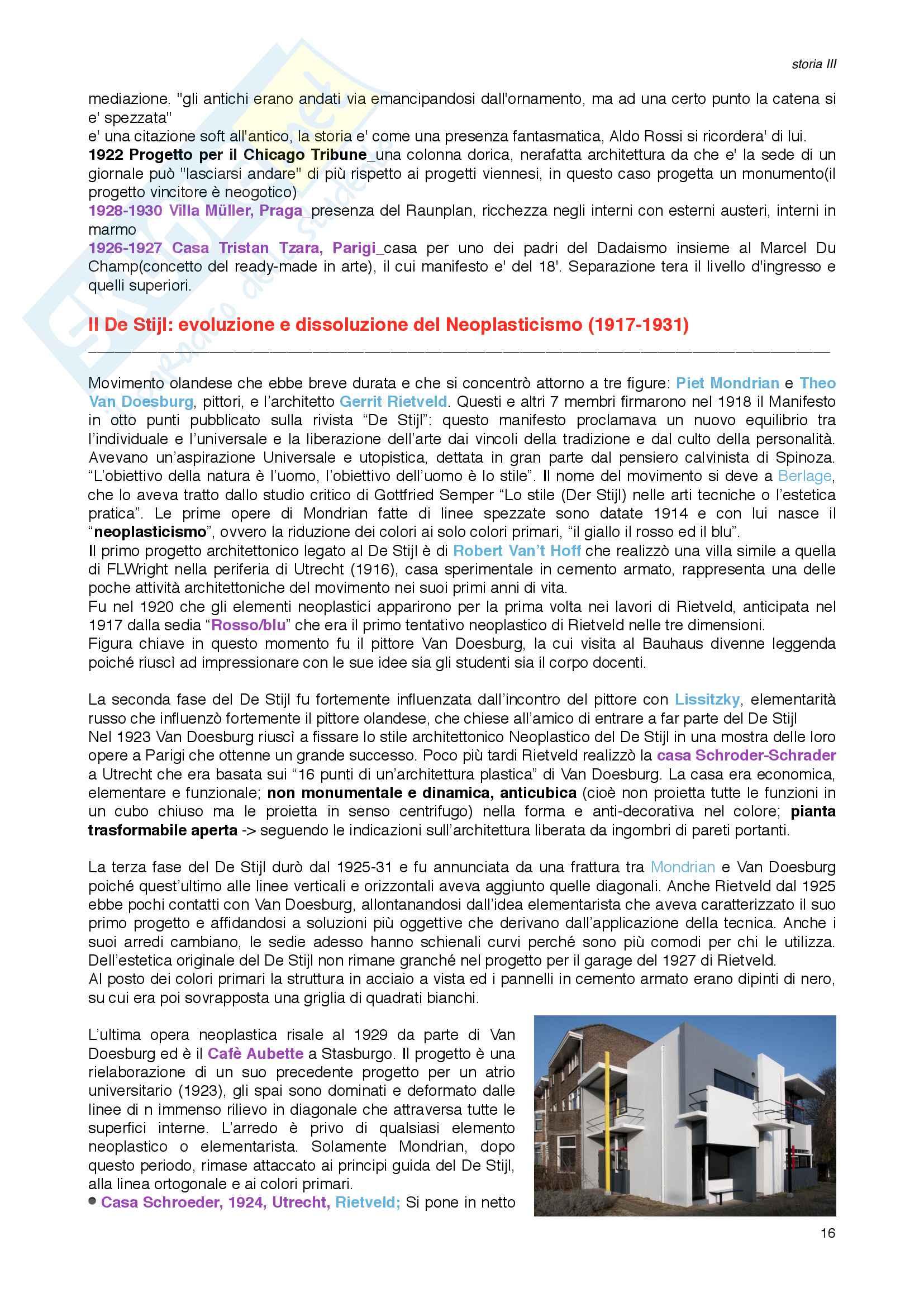 Storia III_Architettura Moderna Pag. 16