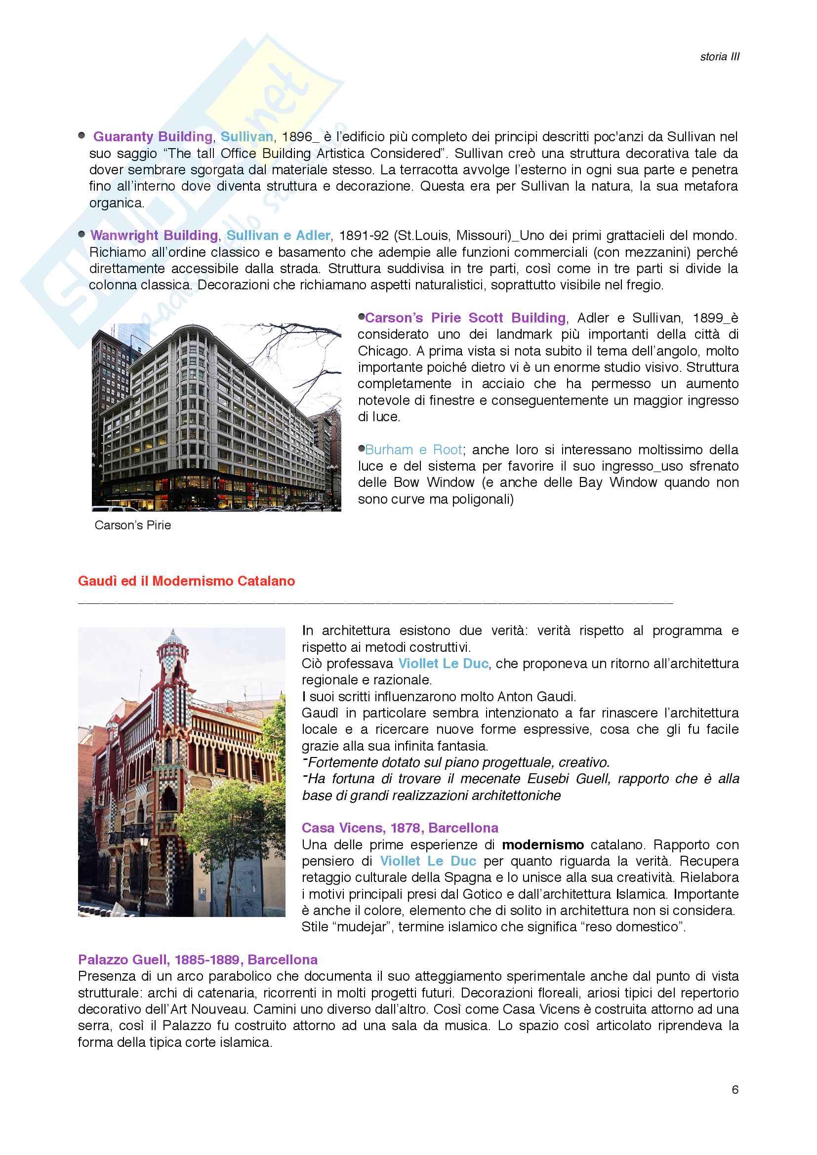 Storia III_Architettura Moderna Pag. 6