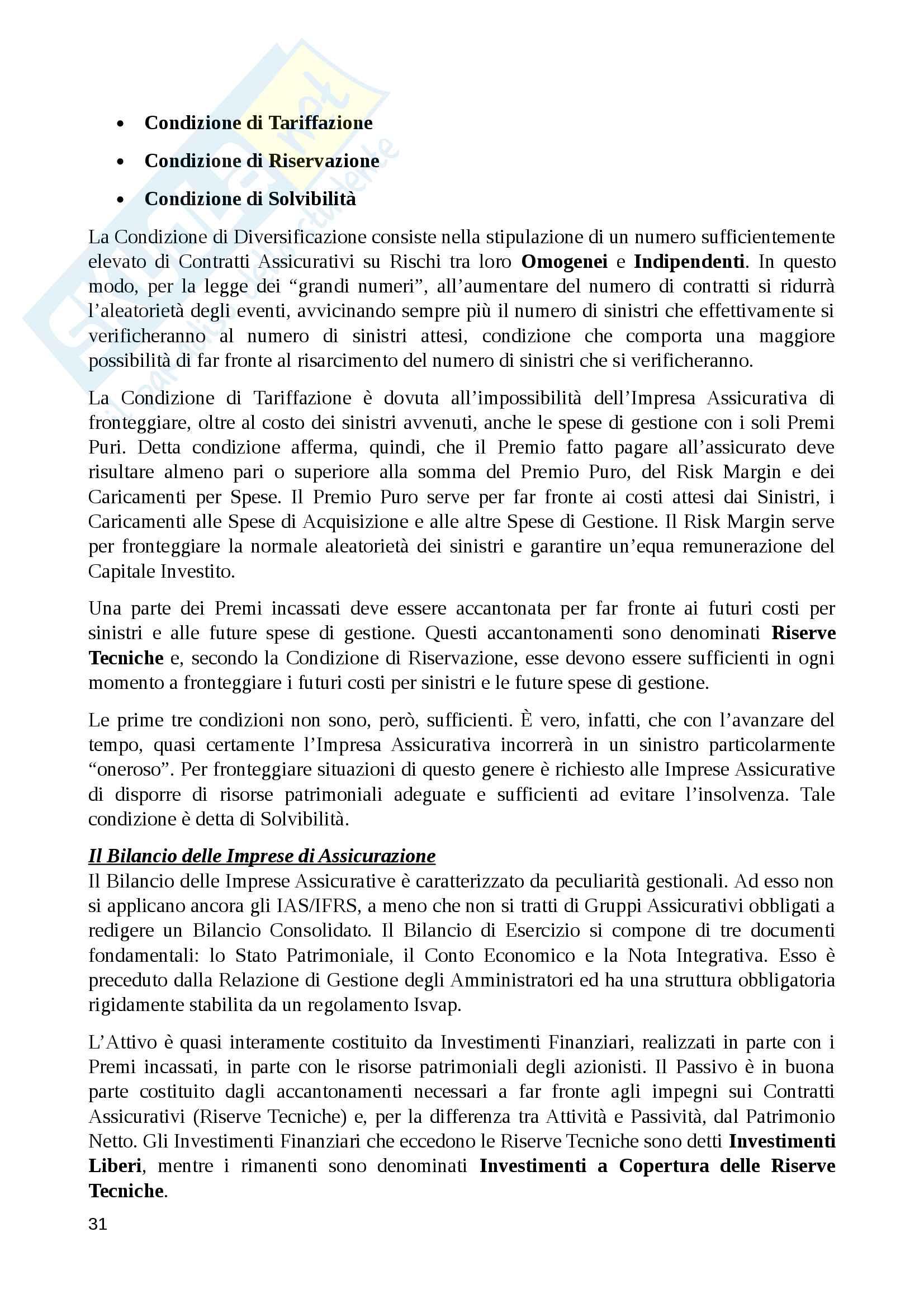 Riassunto economia degli intermediari finanziari, prof. Murè/La Torre Pag. 31
