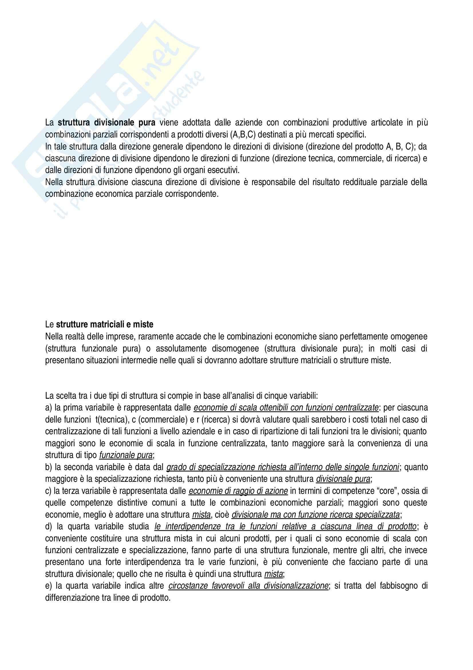 Riassunto esame Economia aziendale, prof. Confalonieri, libro consigliato Corso di economia aziendale, Airoldi, Brunetti, Coda Pag. 41