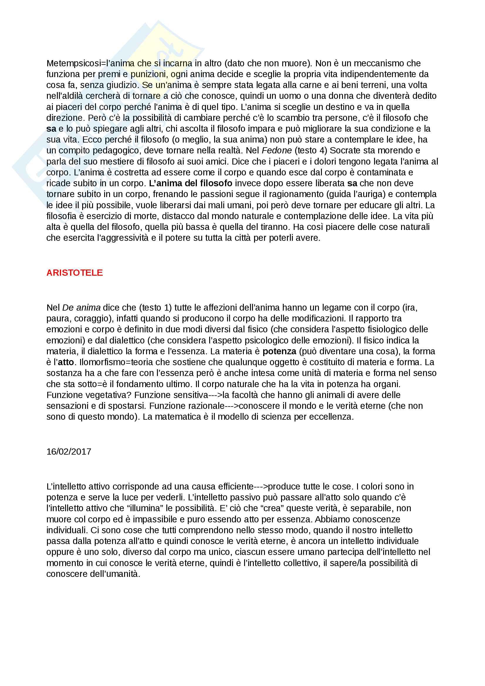 Storia della filosofia modulo A Pag. 2