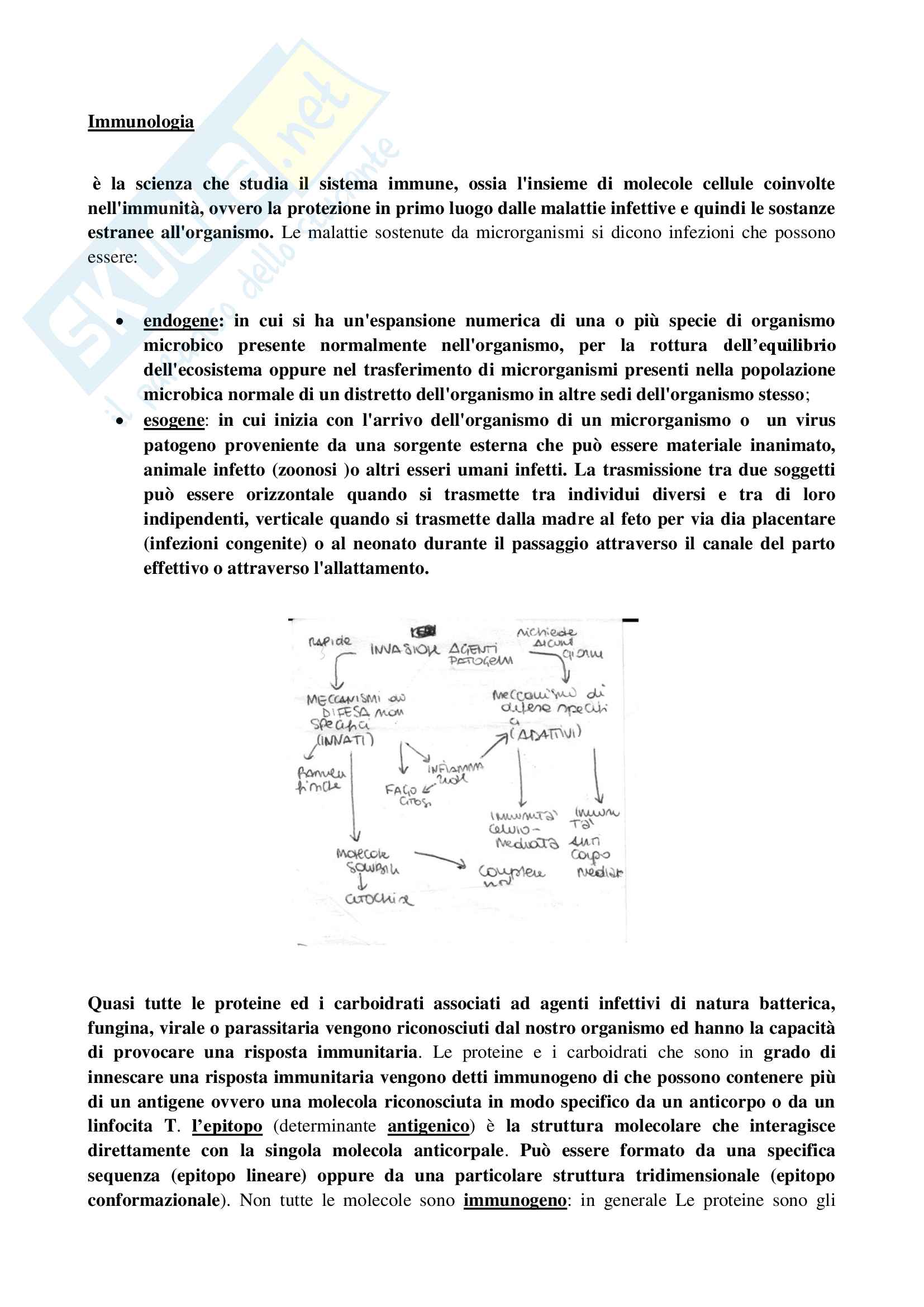 appunto A. Aglianò Immunologia
