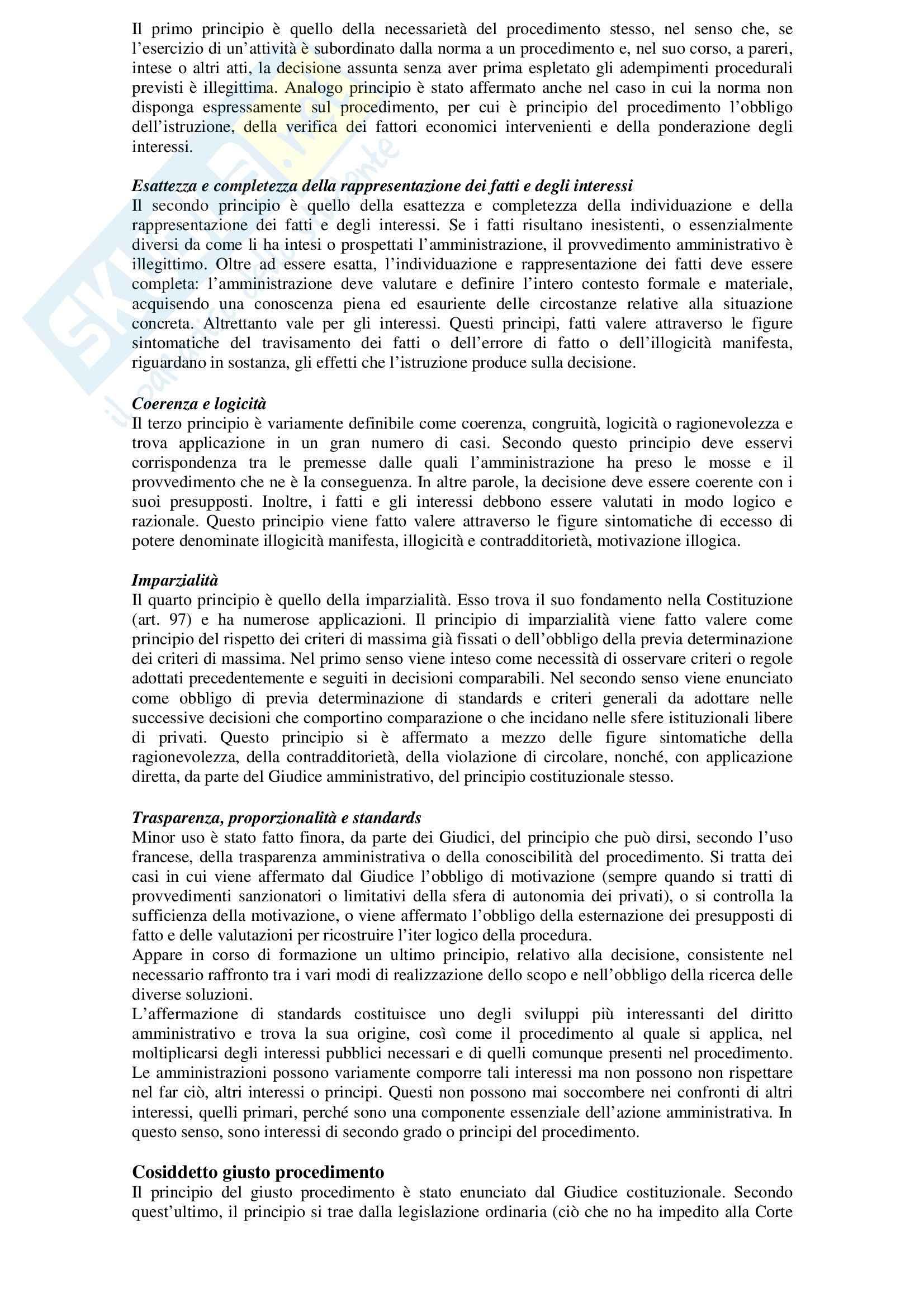 Diritto amministrativo - nozioni generali Pag. 21
