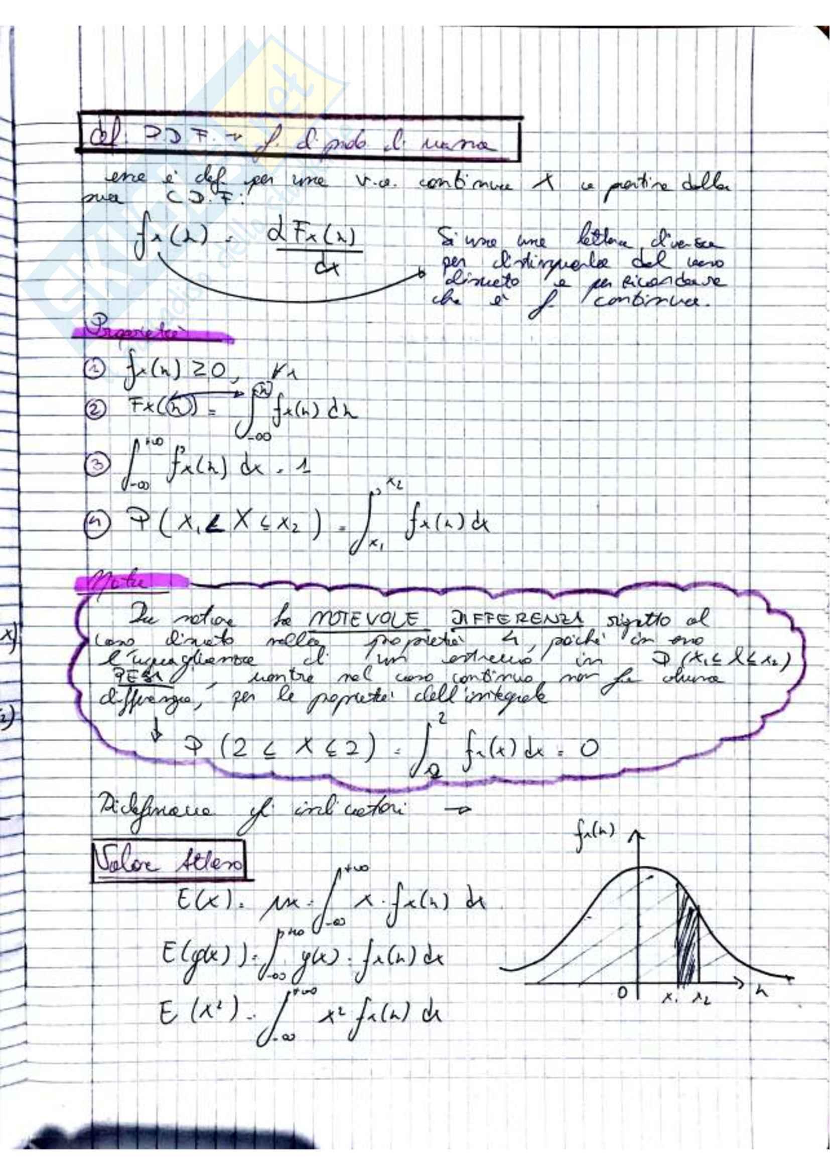 Teoria della Probabilità (2di3) Pag. 11